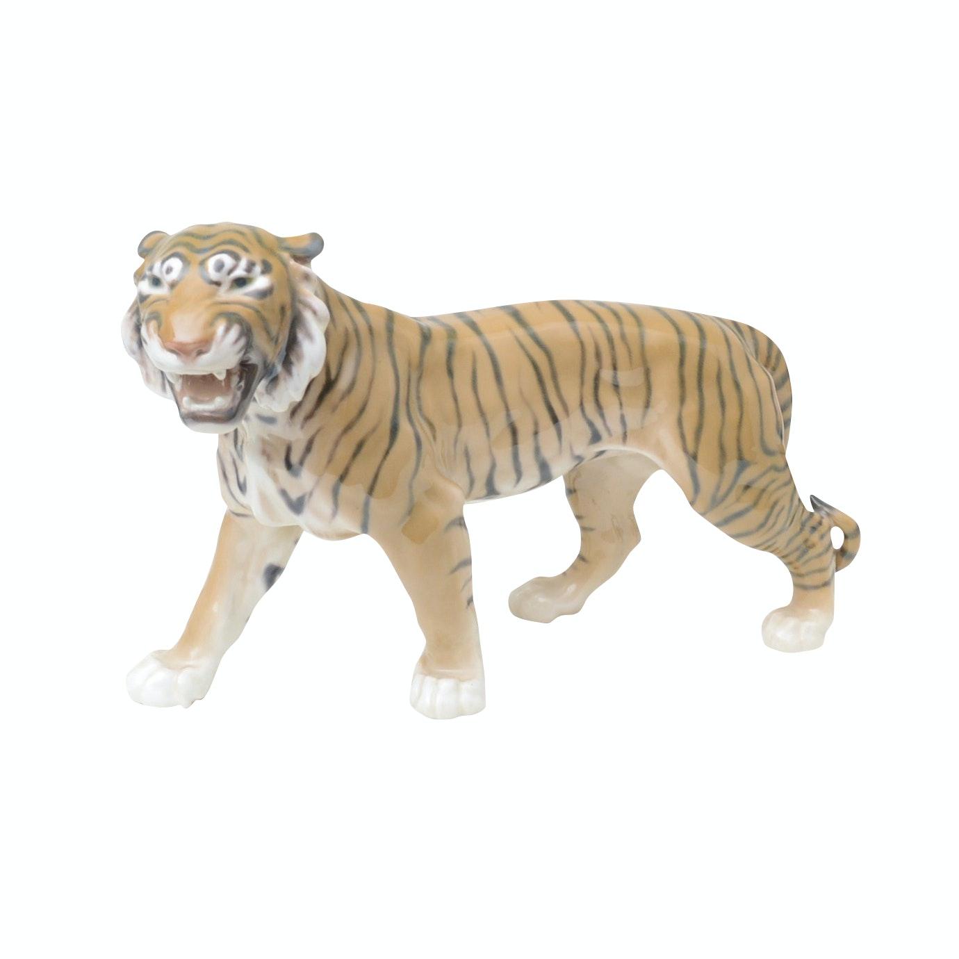 Bing & Grondahl Porcelain Tiger