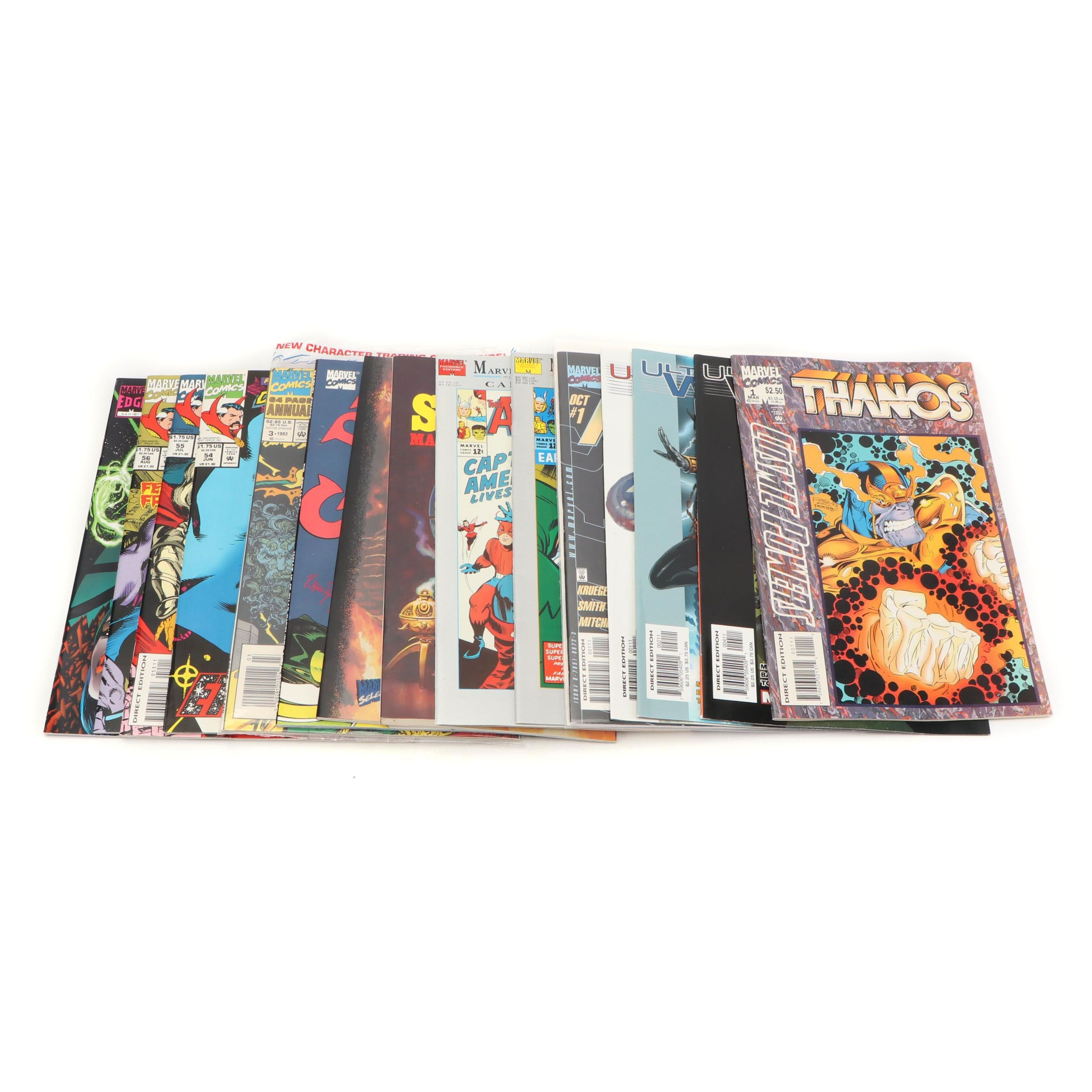 """Modern Age """"Dr. Strange & Avenger"""" Comic Books"""