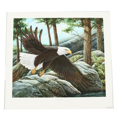 "John Ruthven Limited Edition Giclée ""Victory Flight"""
