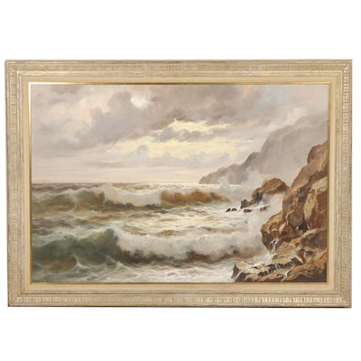 Guido Odierna Seascape Oil Painting