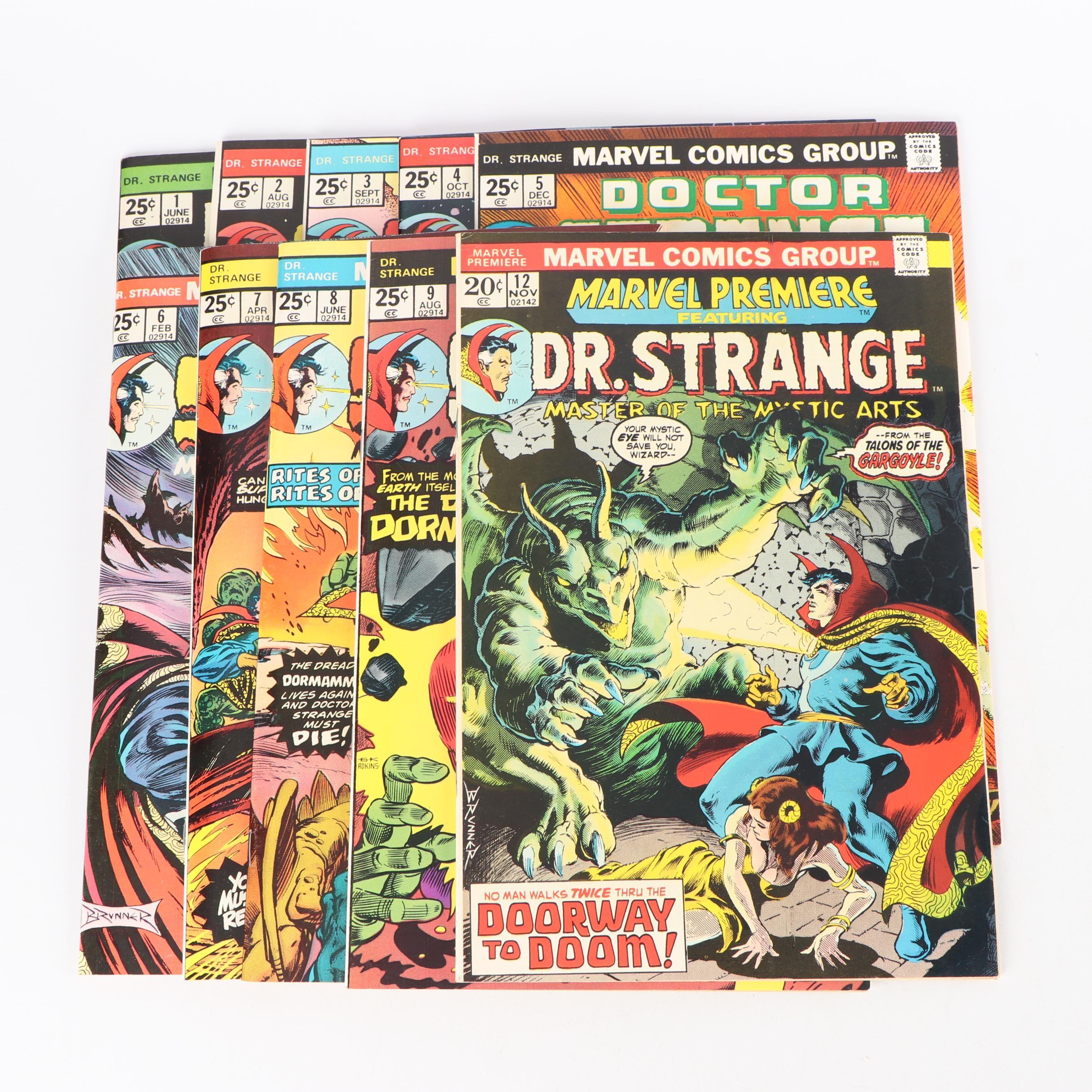 "Bronze Age Marvel Comics Group ""Dr. Strange"" Comic Books"