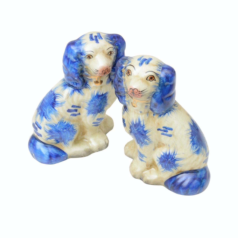 Staffordshire Style Dog Figurines