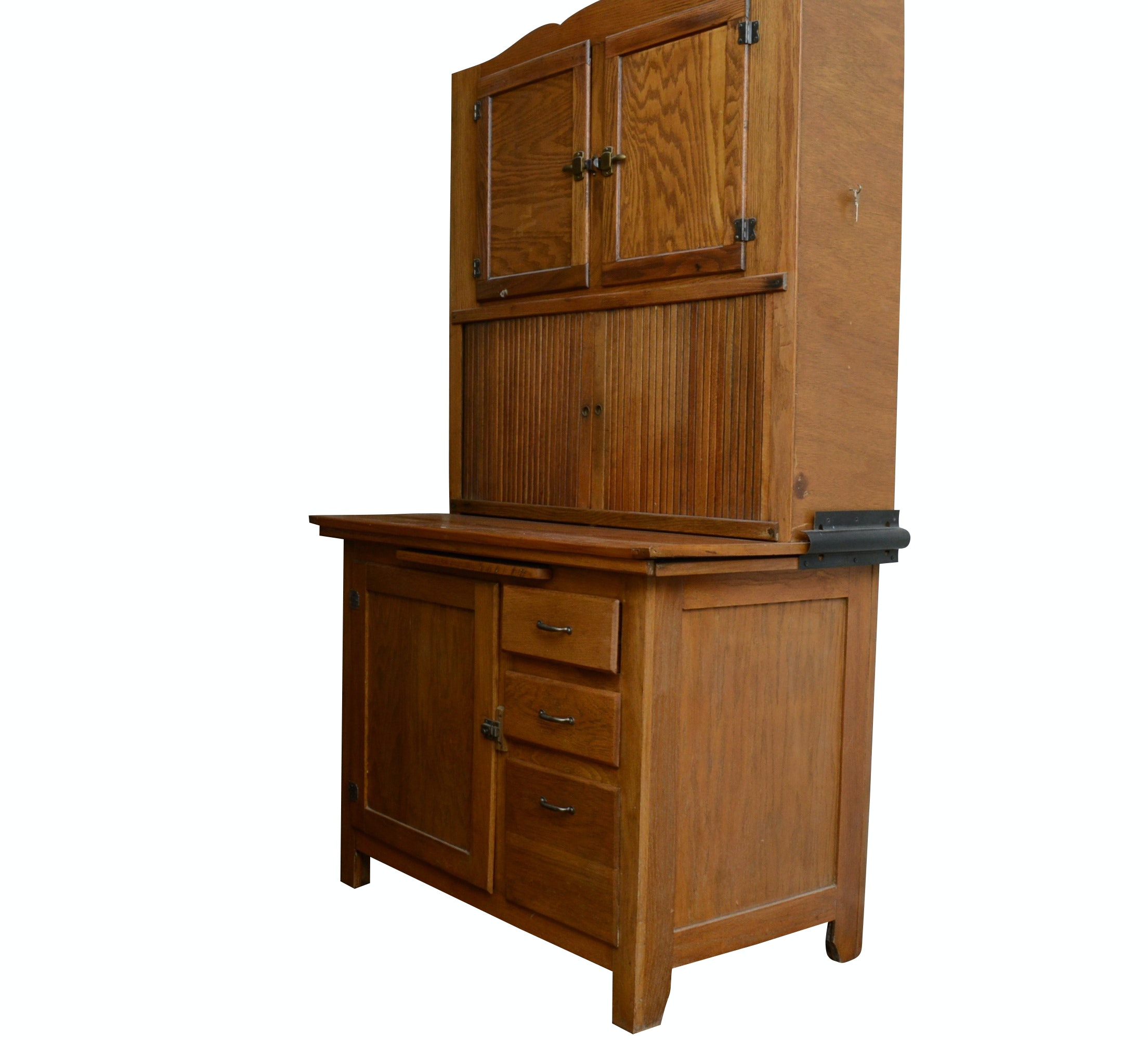 Oak Baker's Cabinet, Early to Mid 20th Century