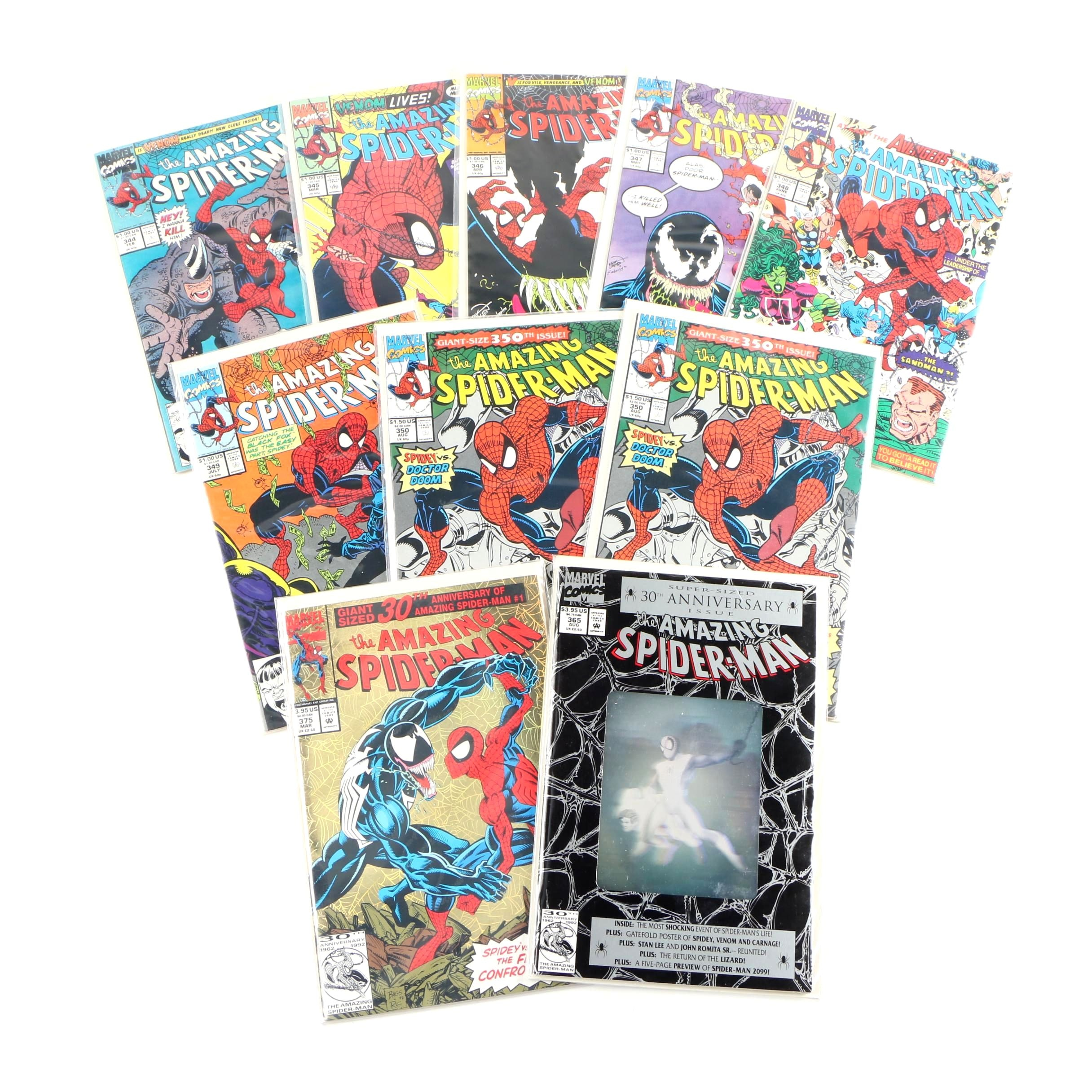 "Marvel ""The Amazing Spider-Man"" Modern Age Comic Books, 1990s"