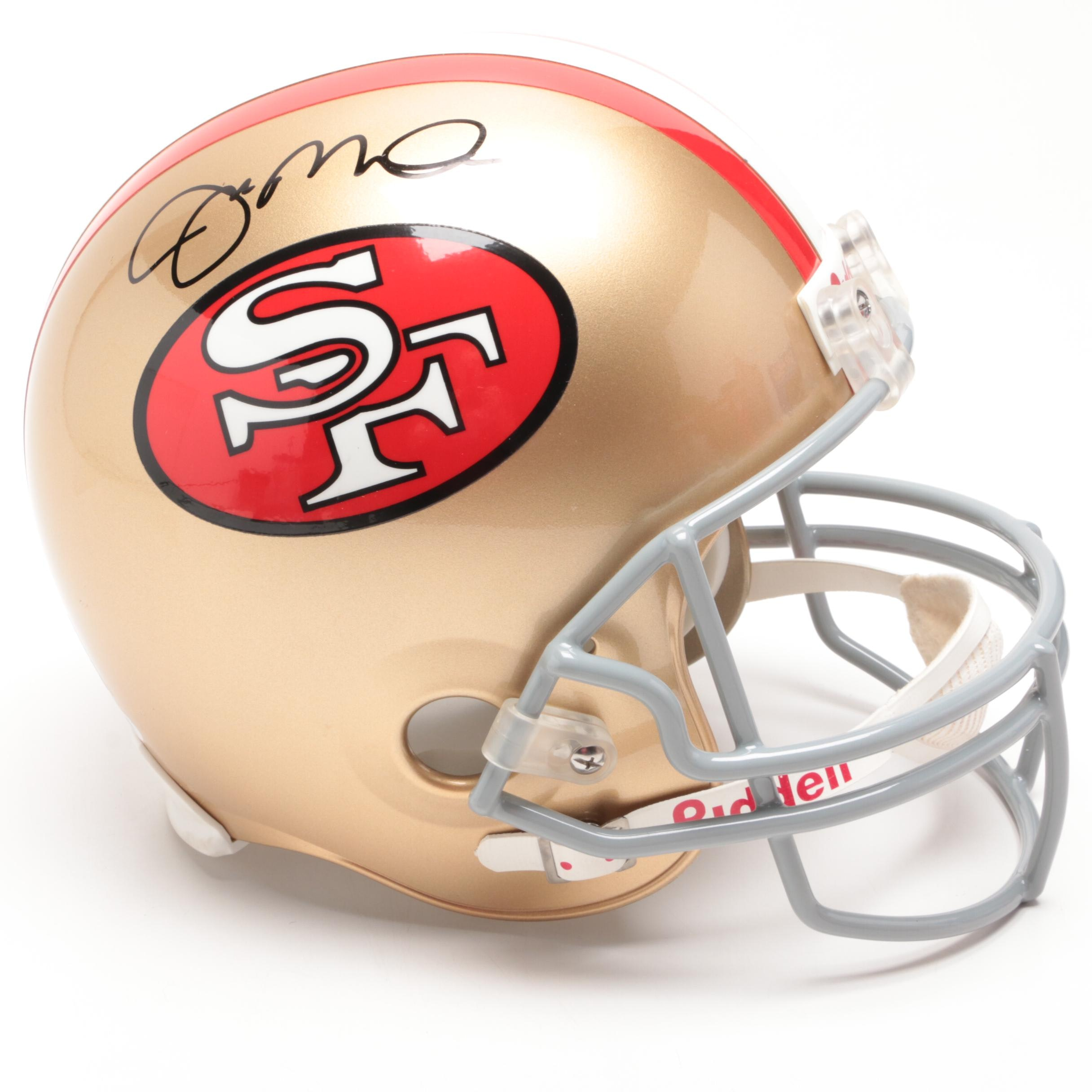 Joe Montana Signed San Fransisco 49ers Football Full-Size Helmet PSA/DNA COA