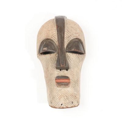 Wooden Songye Kifwebe Mask