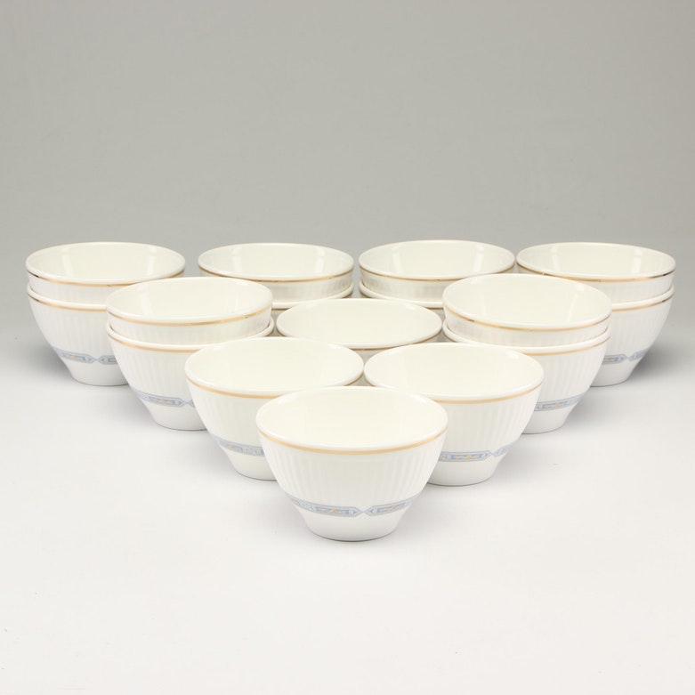 "Wedgwood ""Edwardian Insignia"" Bone China Sugar Bowls"
