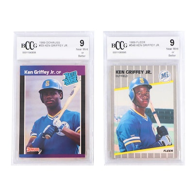 b802cc2fe2 1980's PSA-Graded and Vintage Sports Trading Cards | EBTH