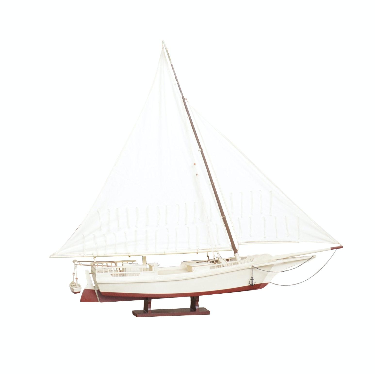 Scale Model Sailboat