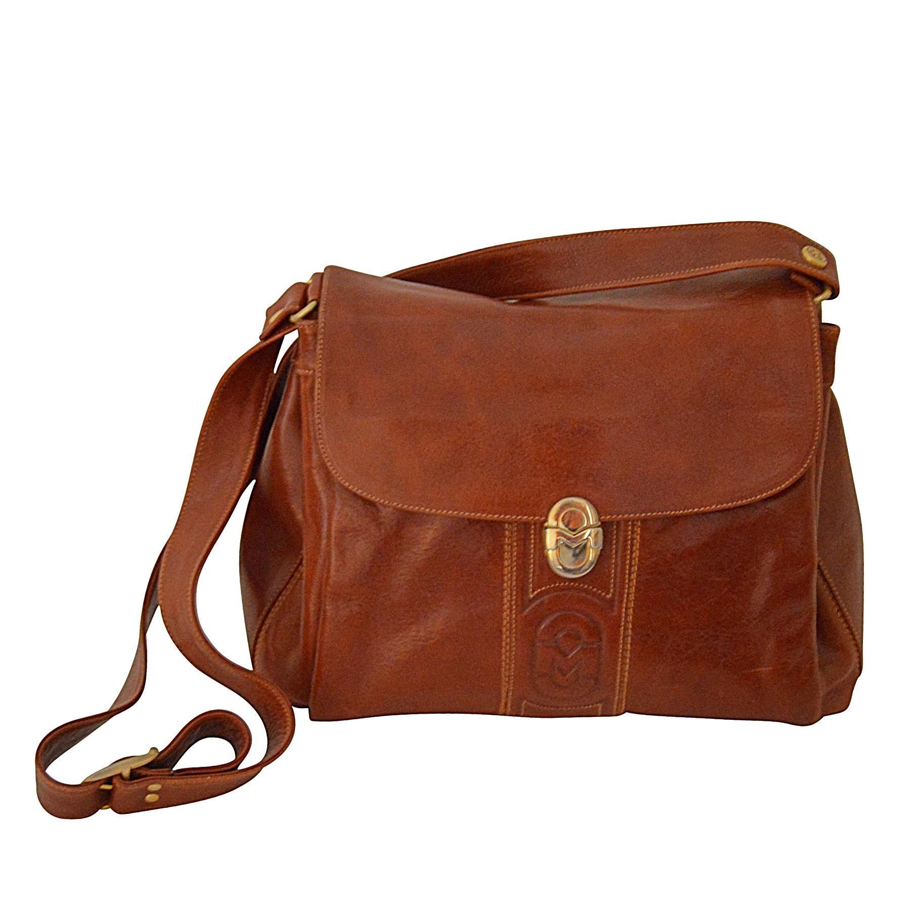 Marino Orlandi Leather Shoulder Bag