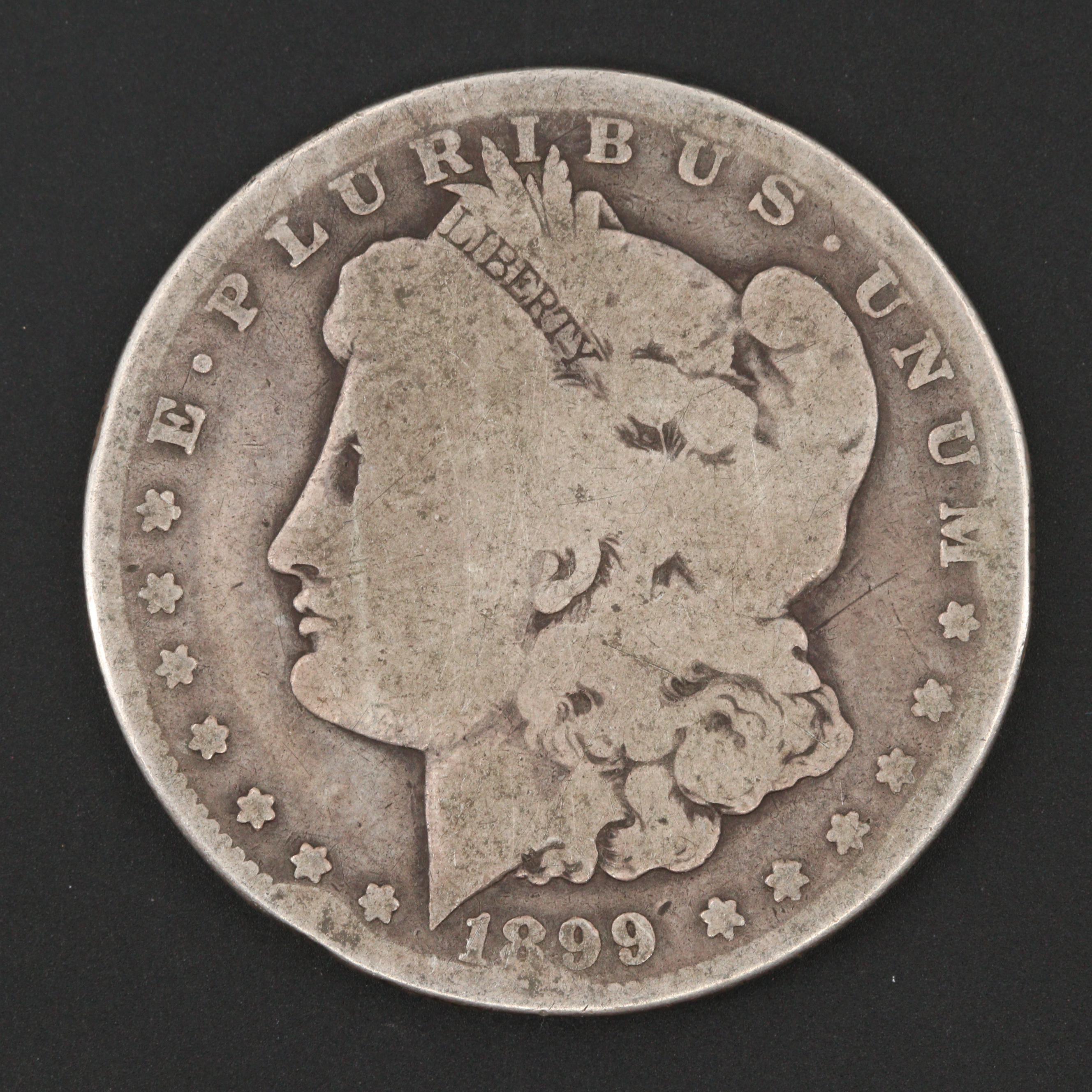 1899-O Silver Morgan Dollar