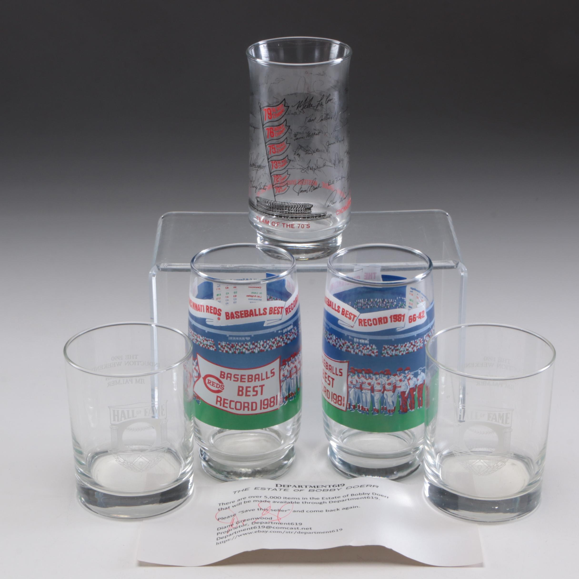 Baseball Glasses, From the Marge Schott and Bobby Doerr Estates