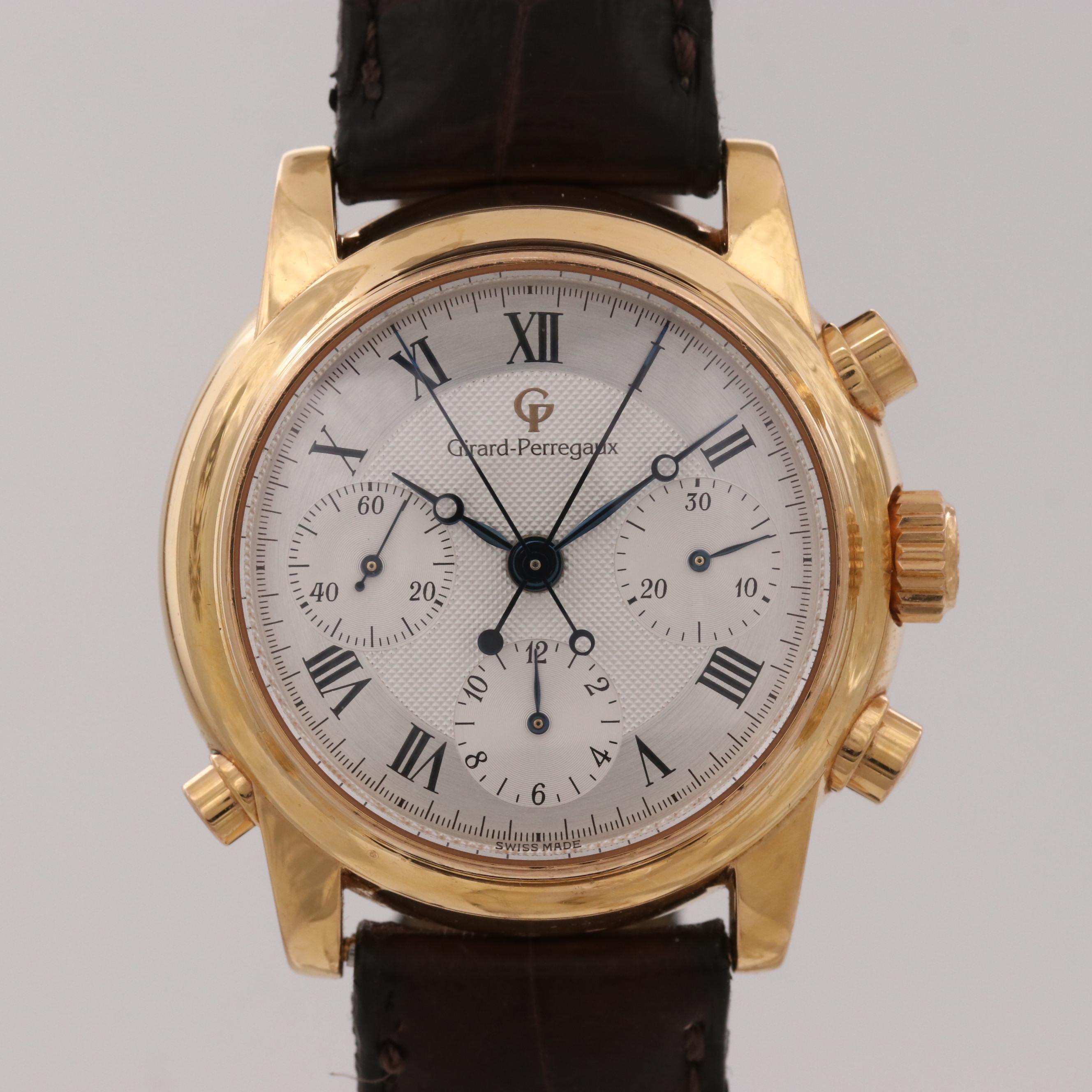 Girard-Perregaux 18K Gold Chronographe à Rattrapante Automatic Wristwatch
