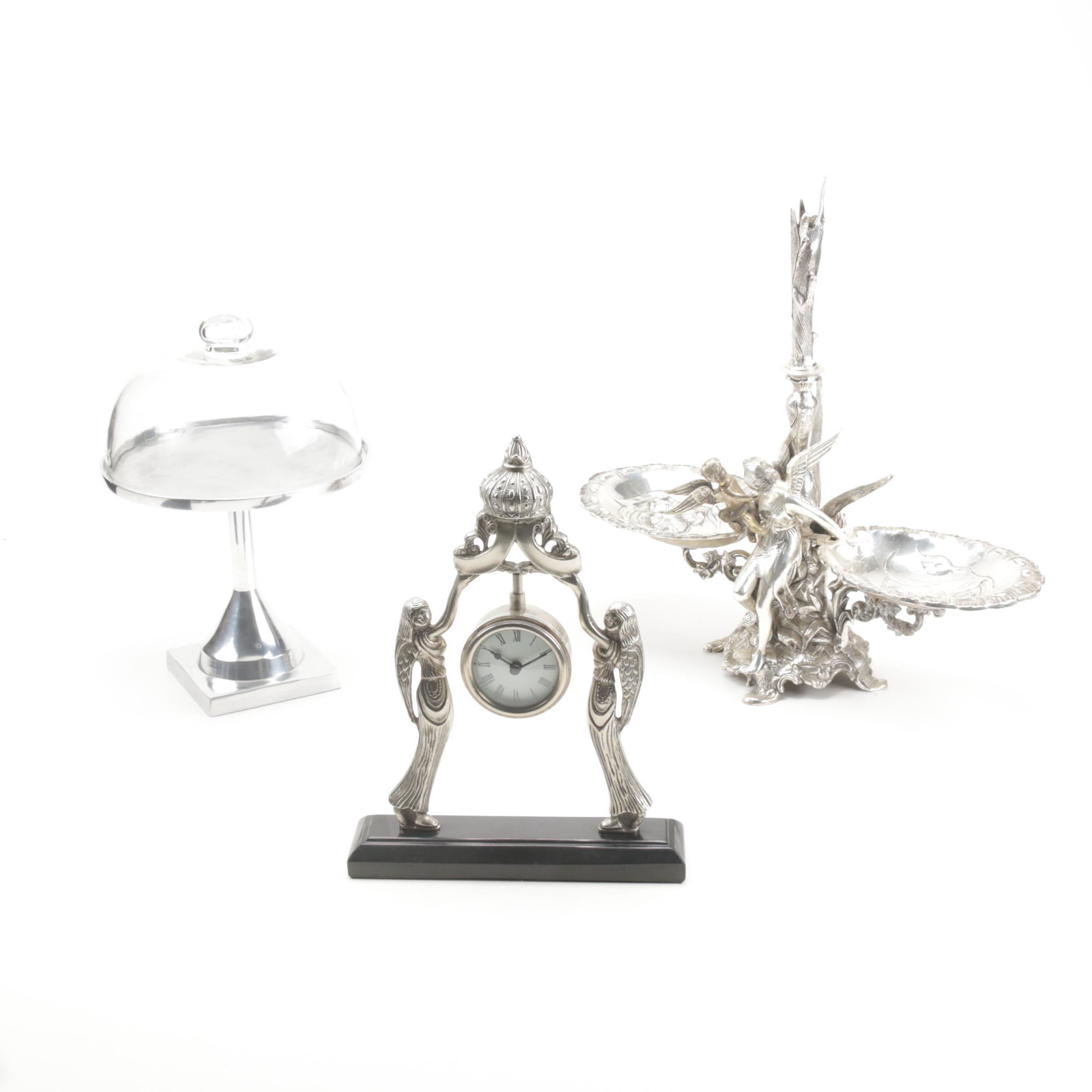 Cast Metal Serveware and Decor