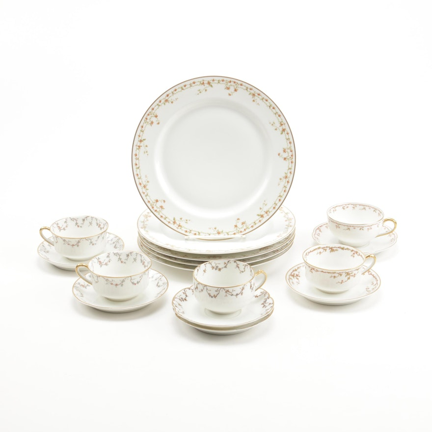 Haviland Porcelain Tableware, Late 19th Century