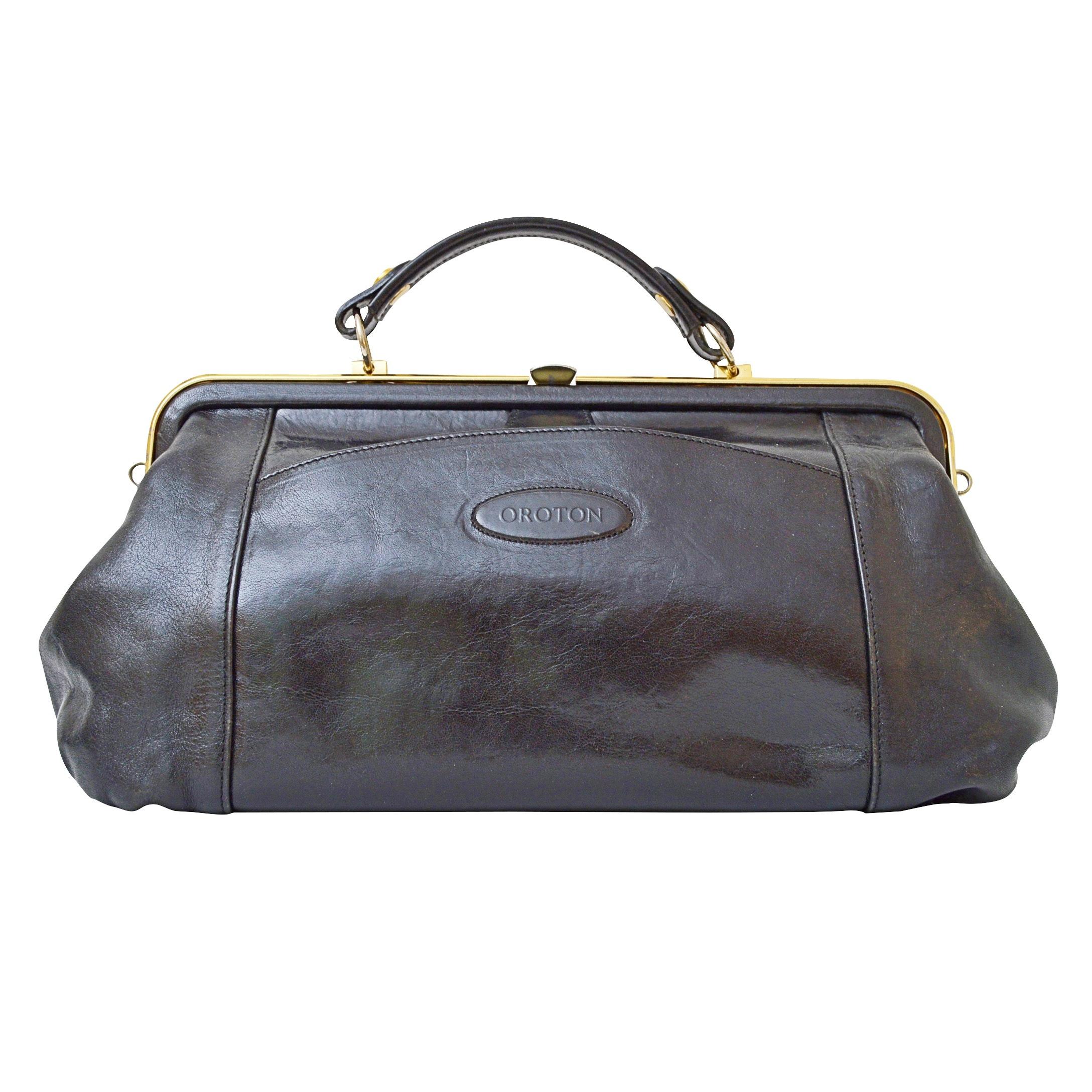 Croton Leather Handbag