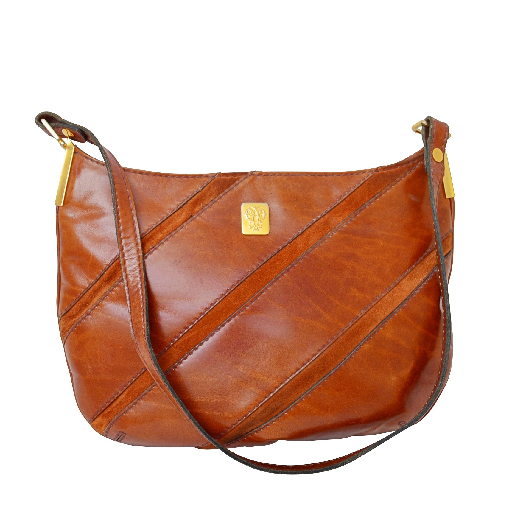 Pucci Leather Shoulder Bag