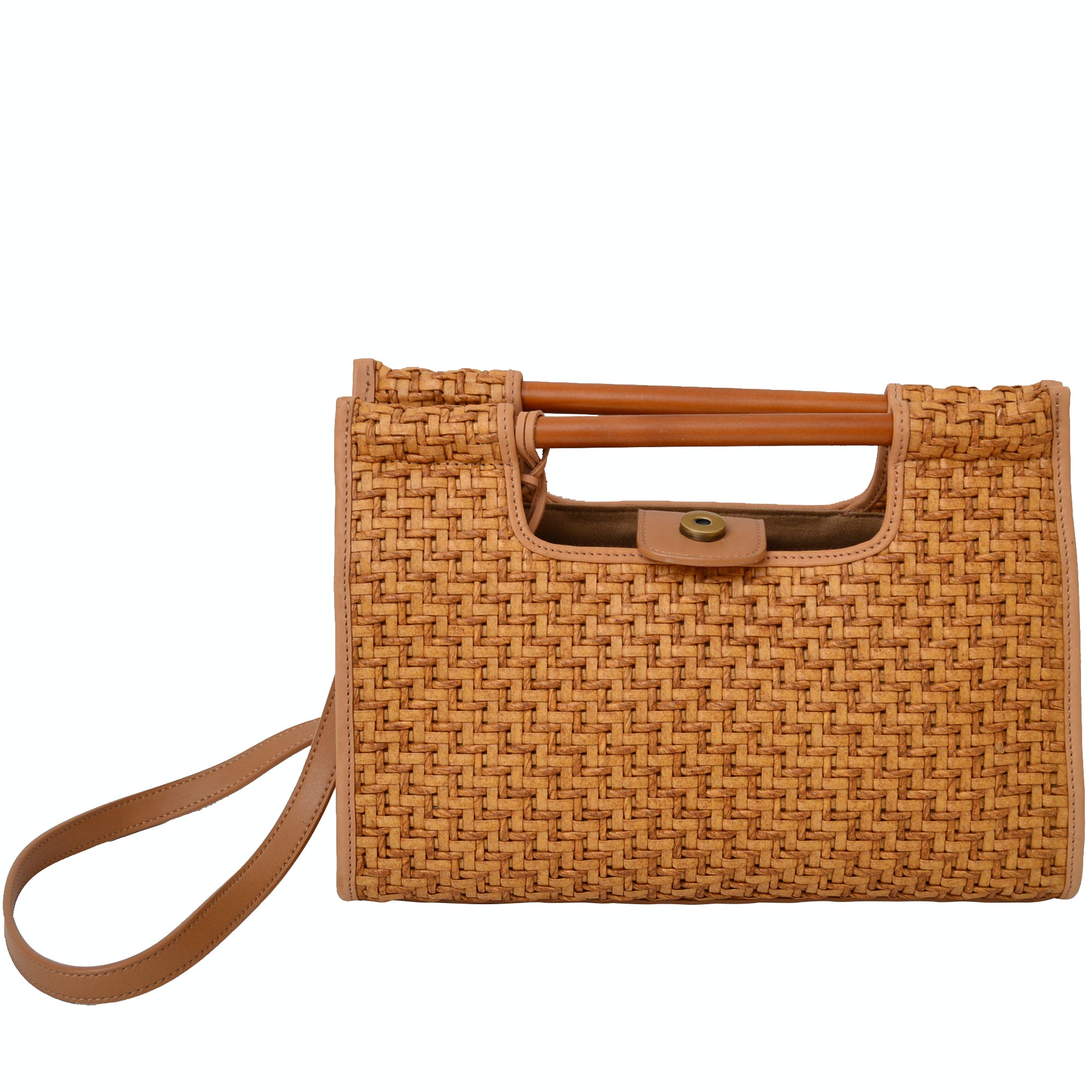 Fossil Woven Shoulder Bag