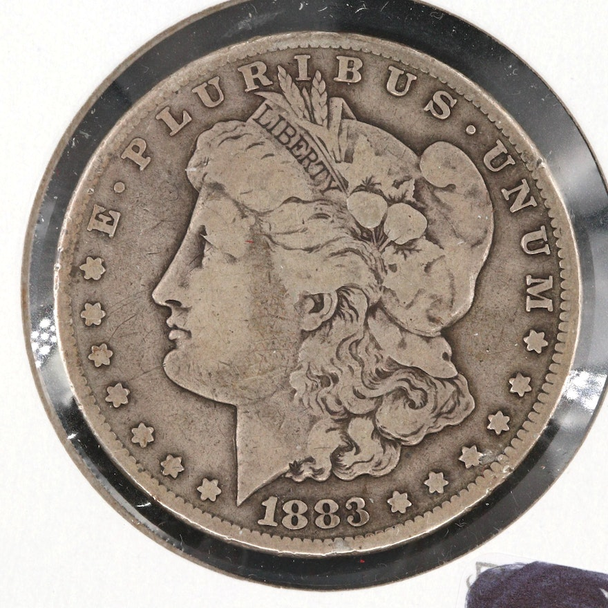 1883 Carson City Silver Morgan Dollar
