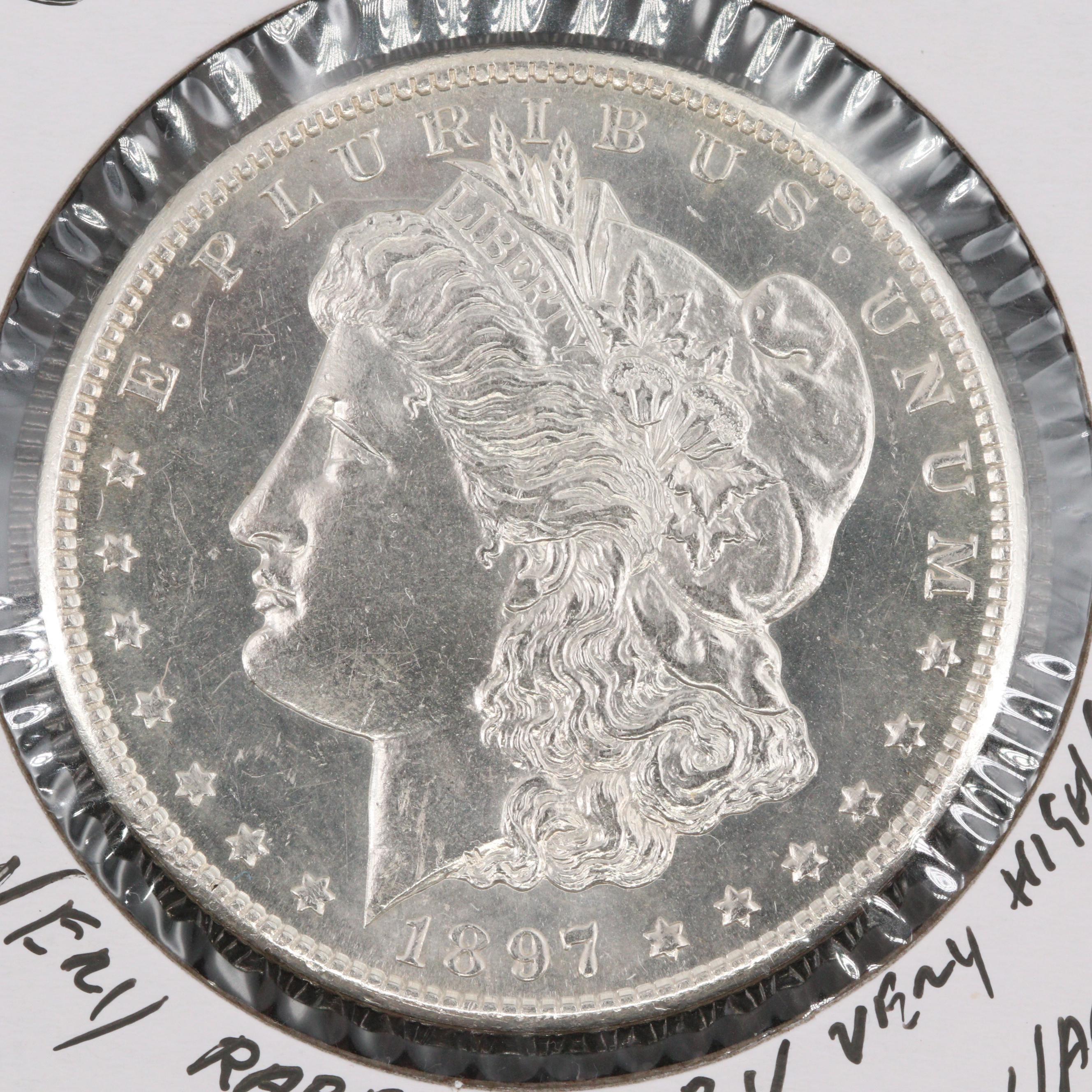 1897-S Silver Morgan Dollar