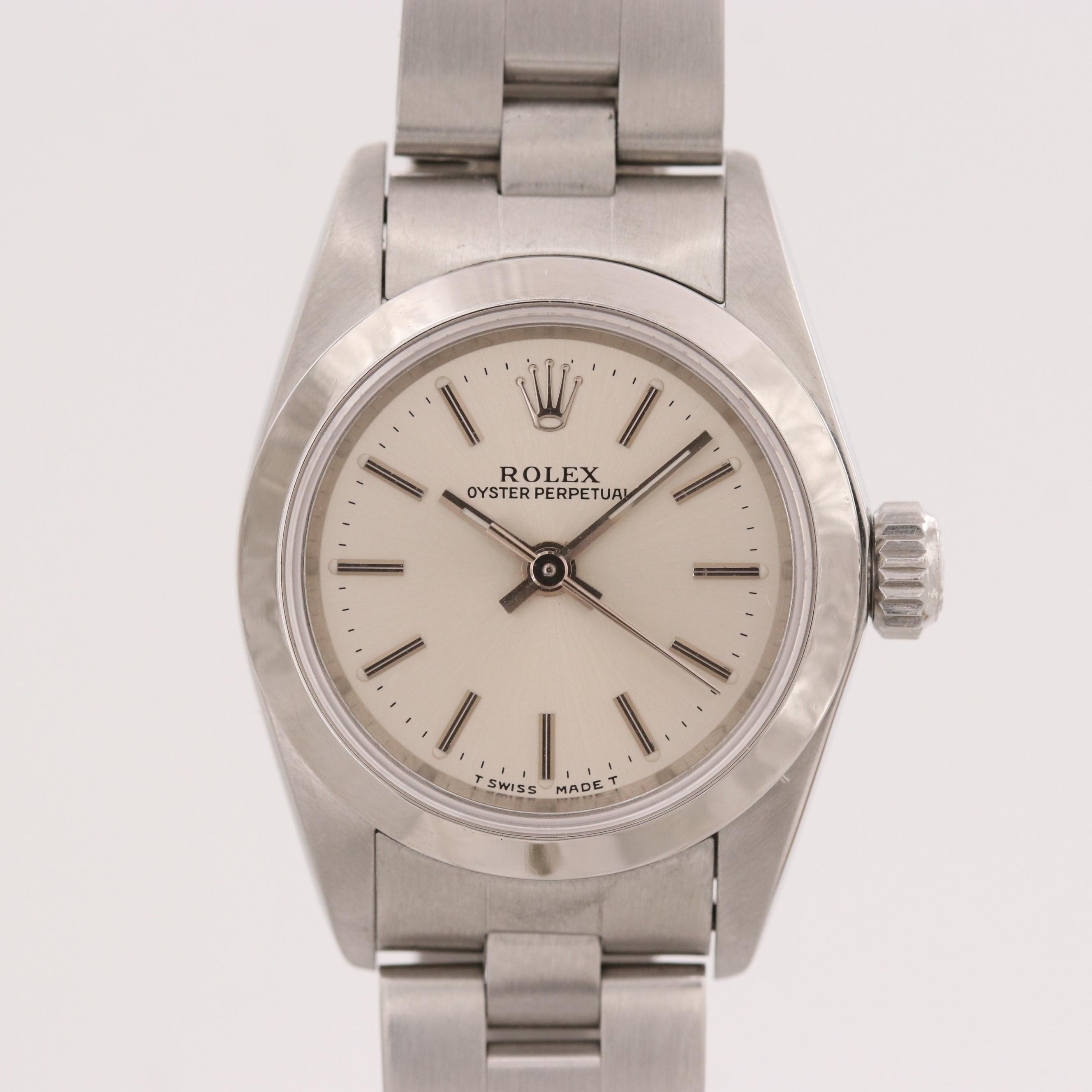 Rolex Oyster Perpetual Stainless Steel Automatic Wristwatch, 1996