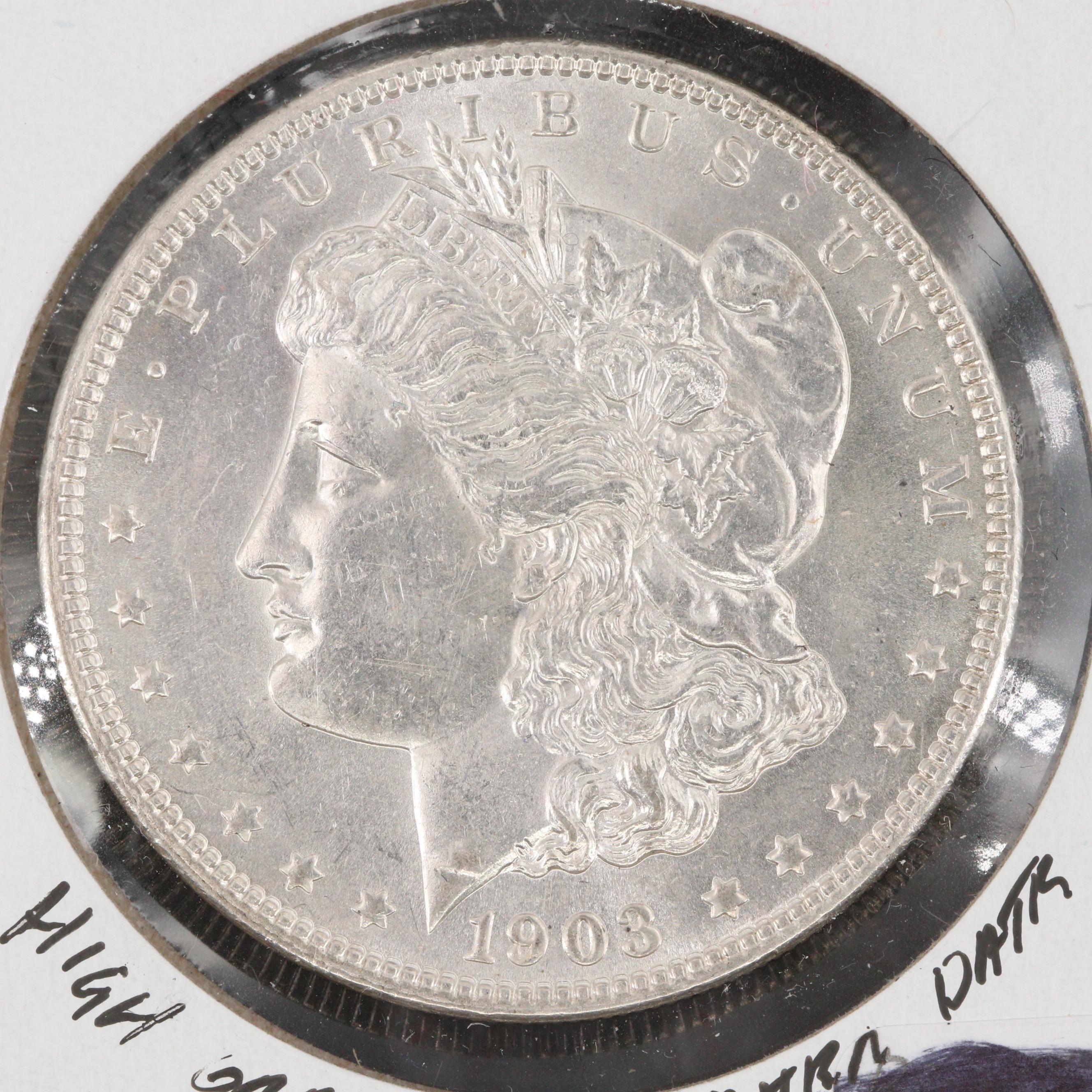 1903 Silver Morgan Dollar