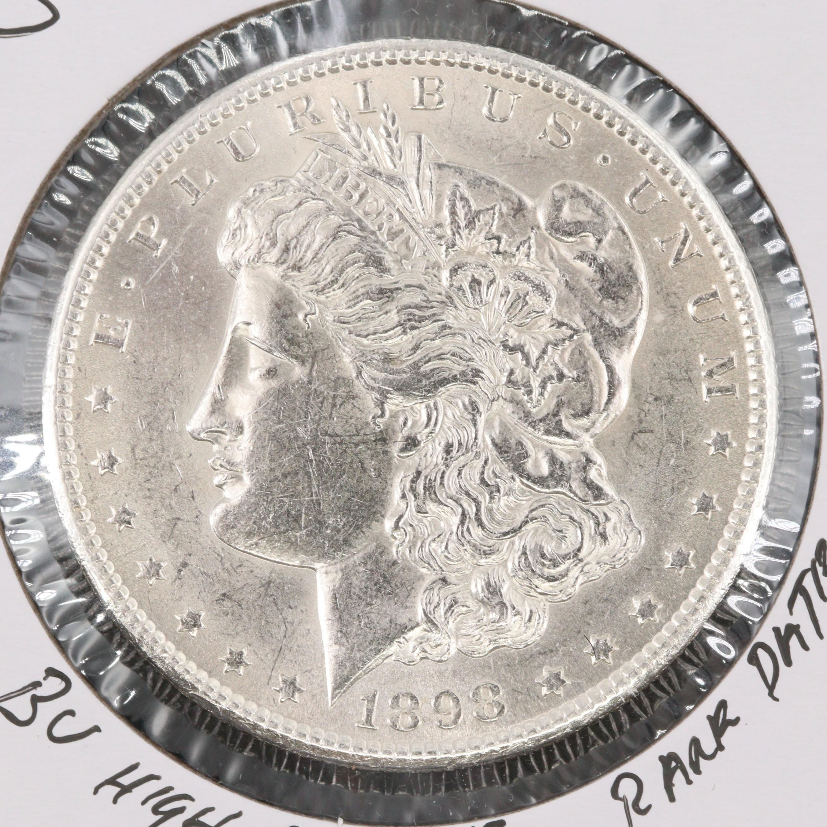 1898-S Silver Morgan Dollar