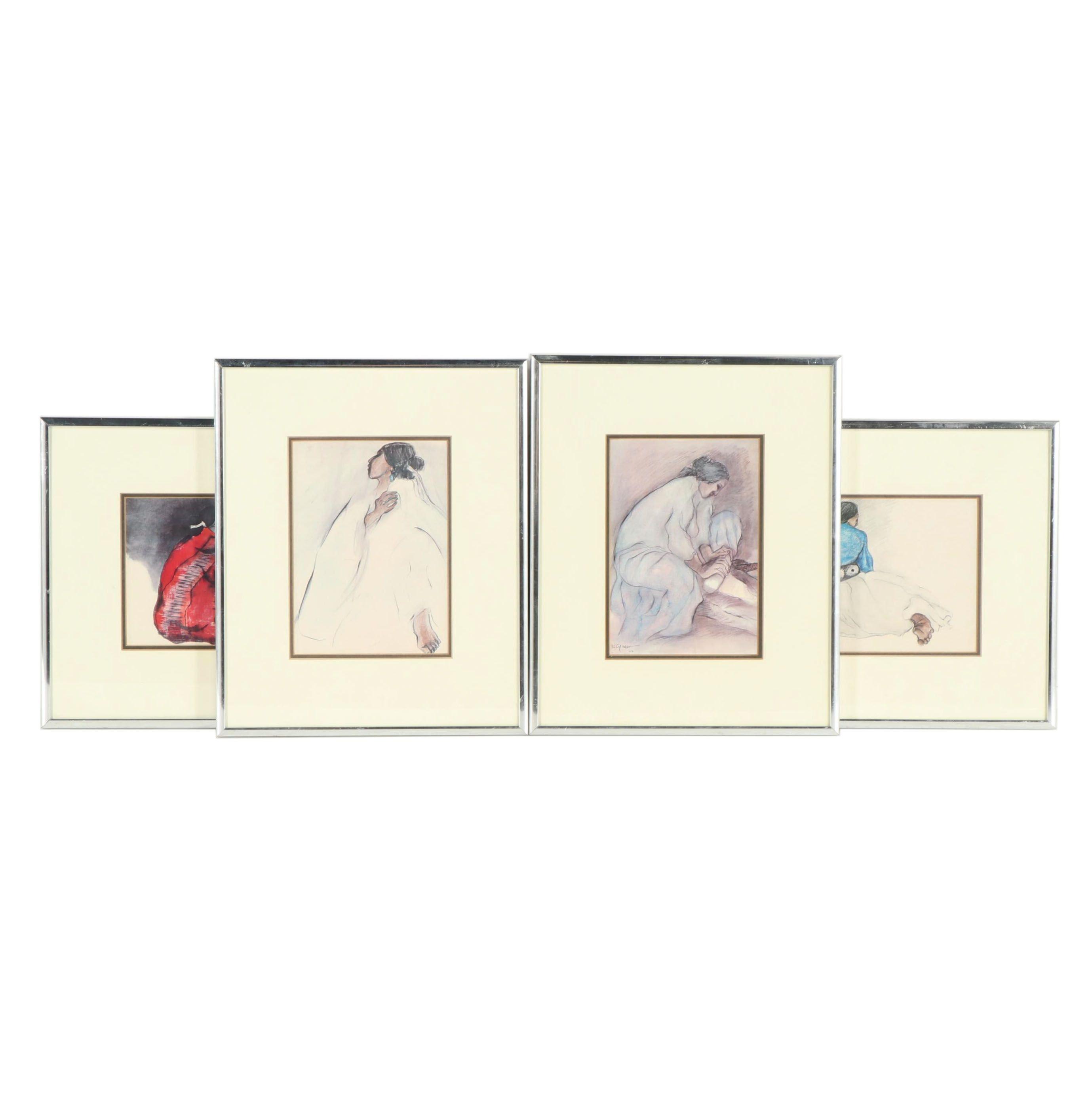 Offset Lithographs after R.C. Gorman