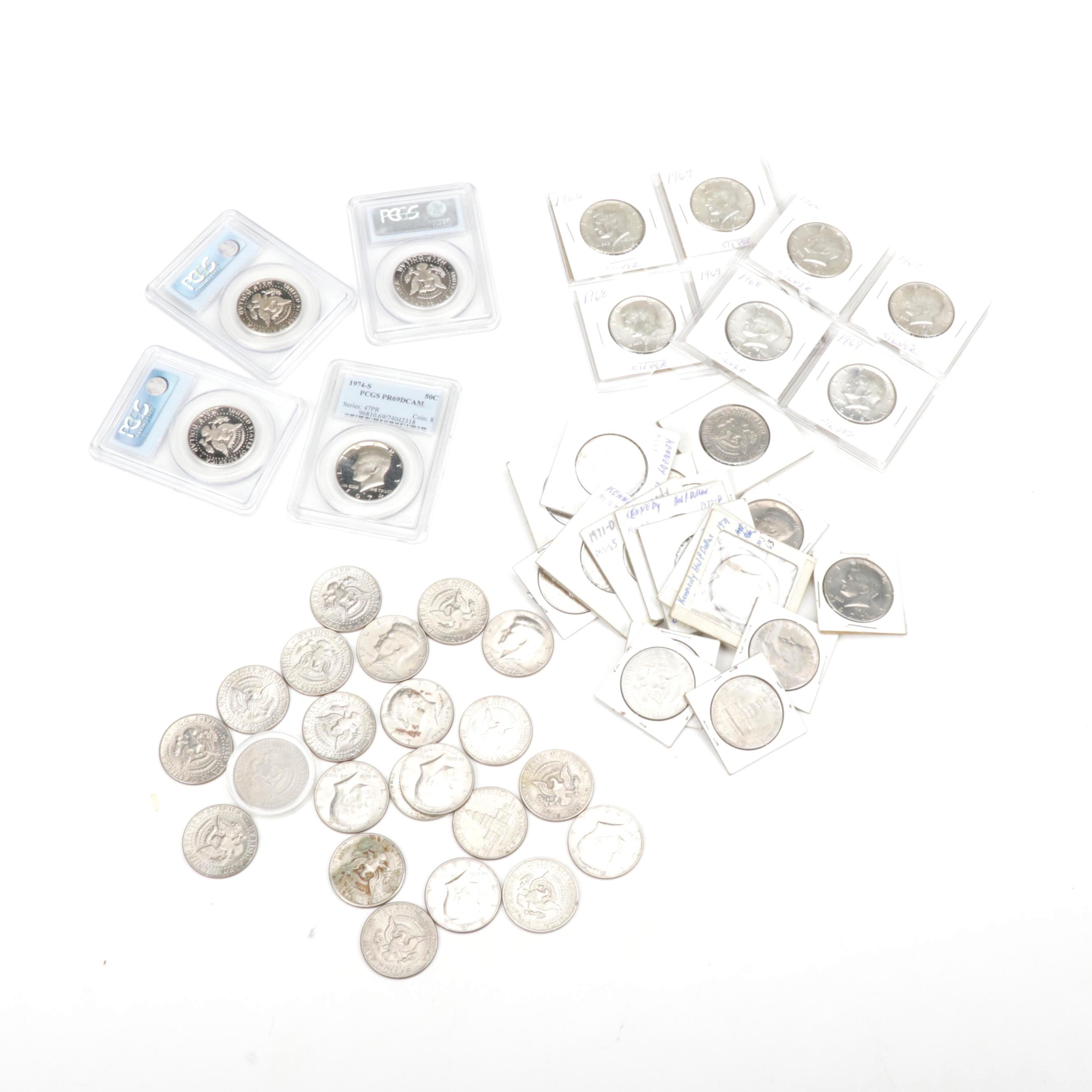 United States Kennedy Half Dollar Coins