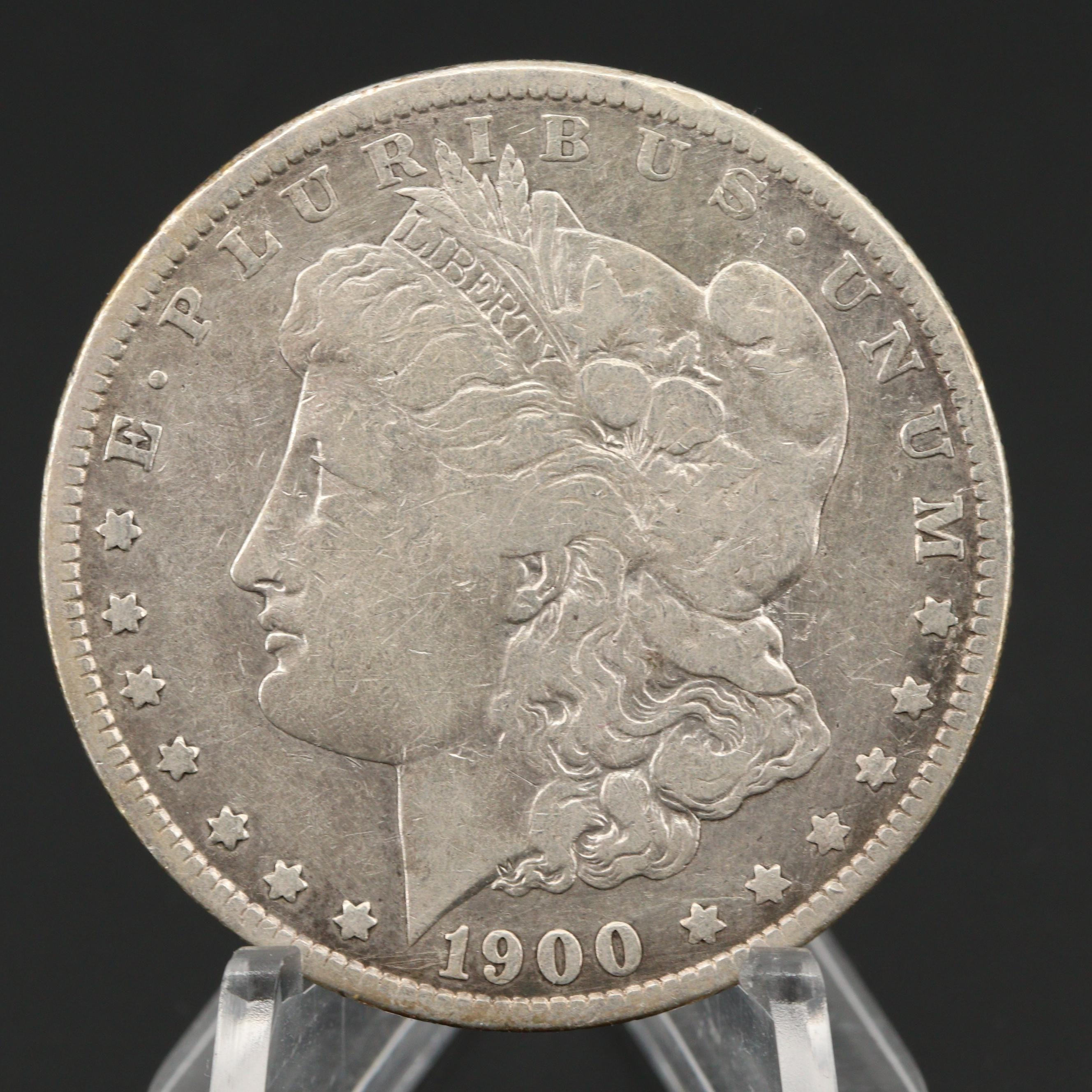1900-O/CC Silver Morgan Dollar