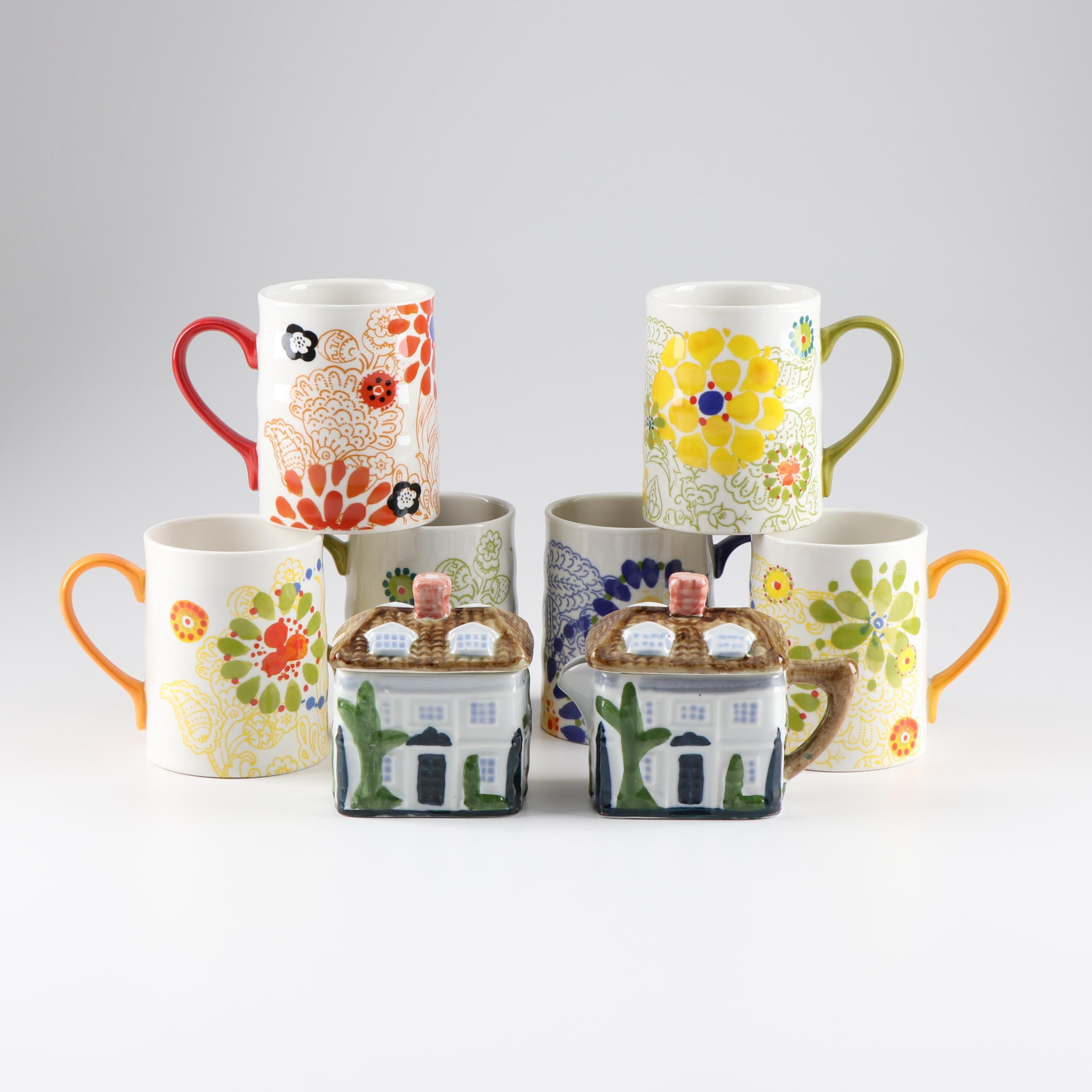 Kitchenware Featuring Mugs by Biscuit