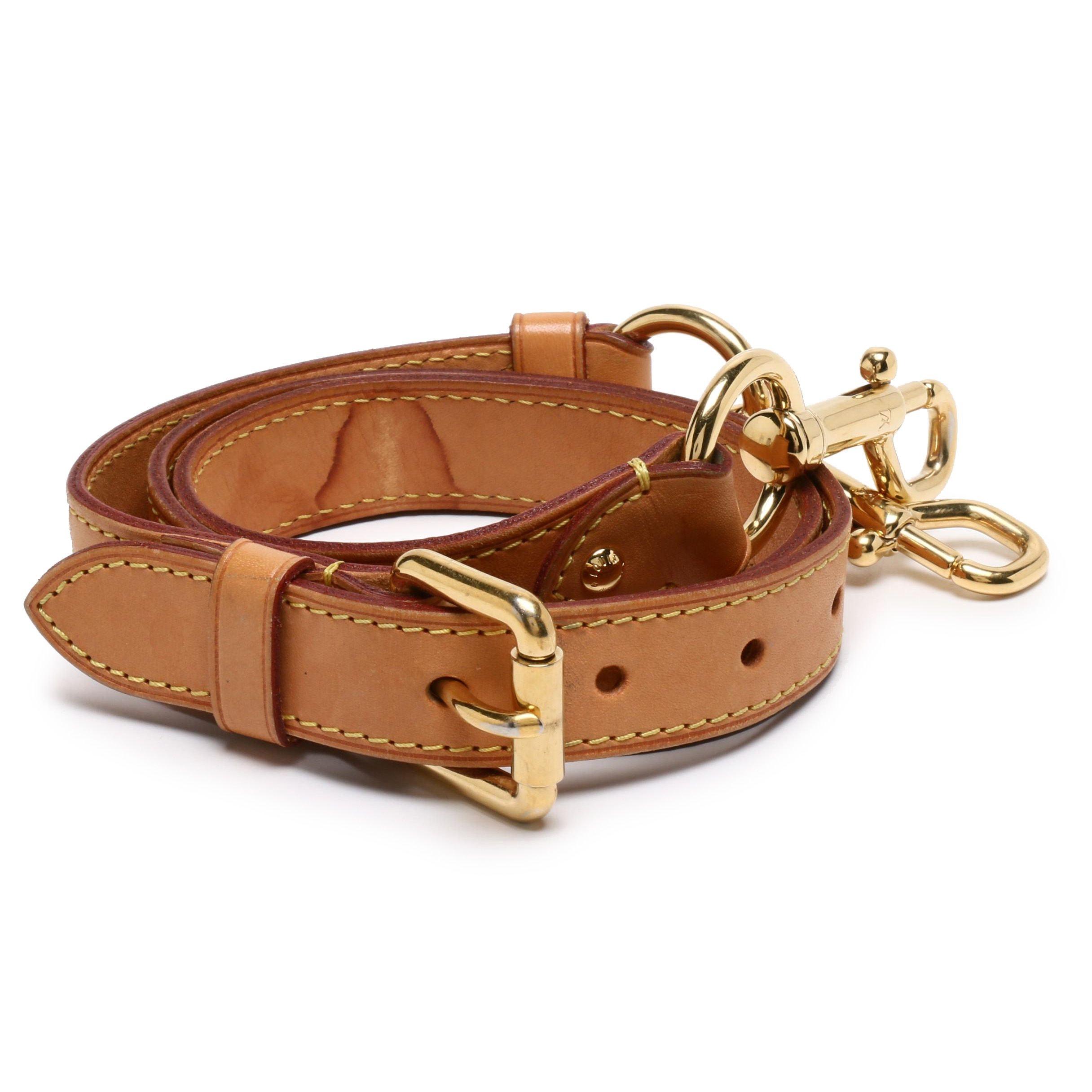 Louis Vuitton Vachetta Leather Adjustable Shoulder Strap