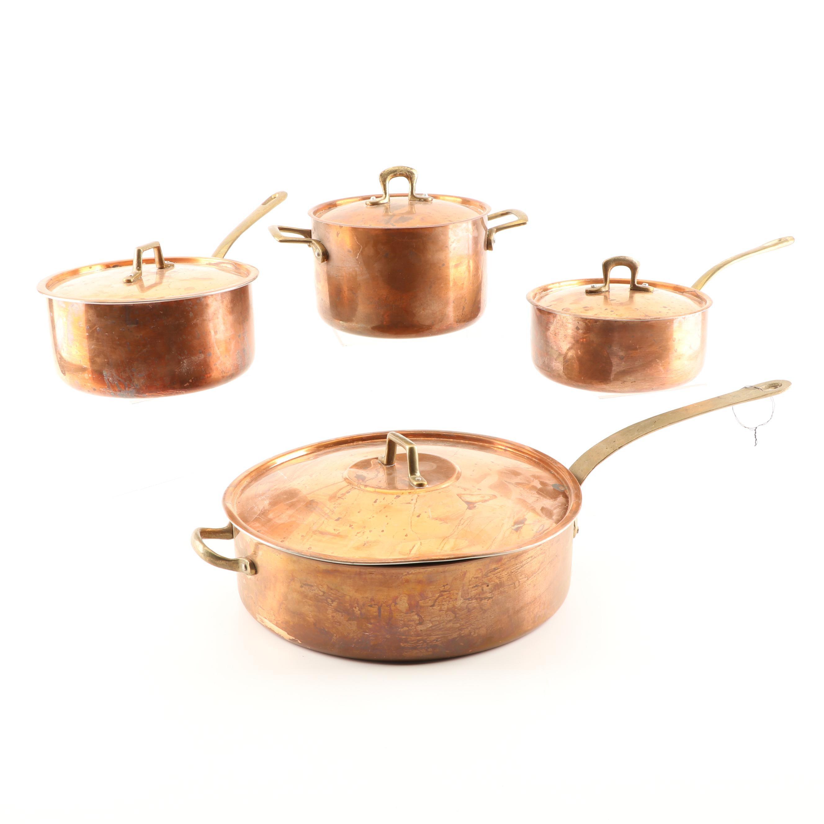 Aluminum Lined Copper Cookware