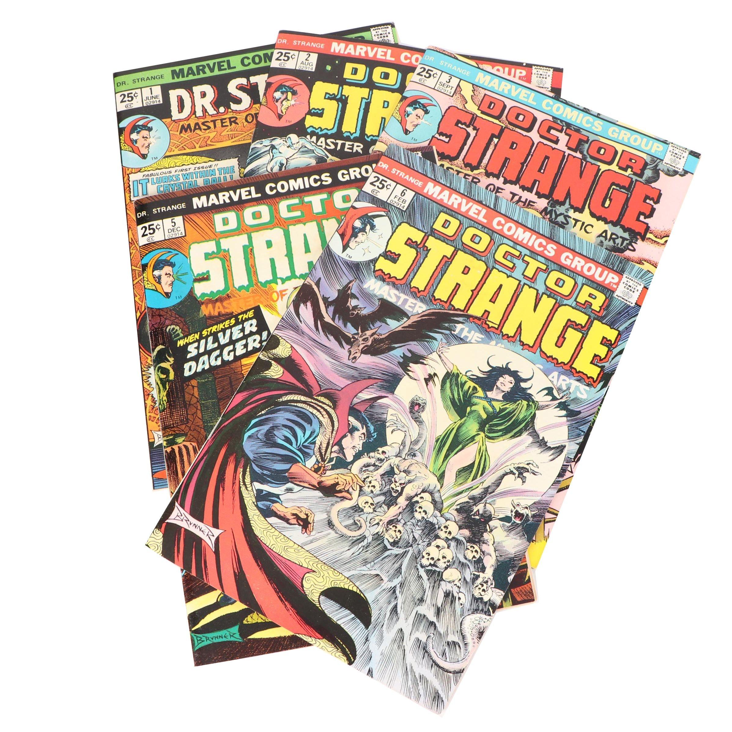 "Bronze Age Marvel Comic Groups ""Dr. Strange"" Comic Books"