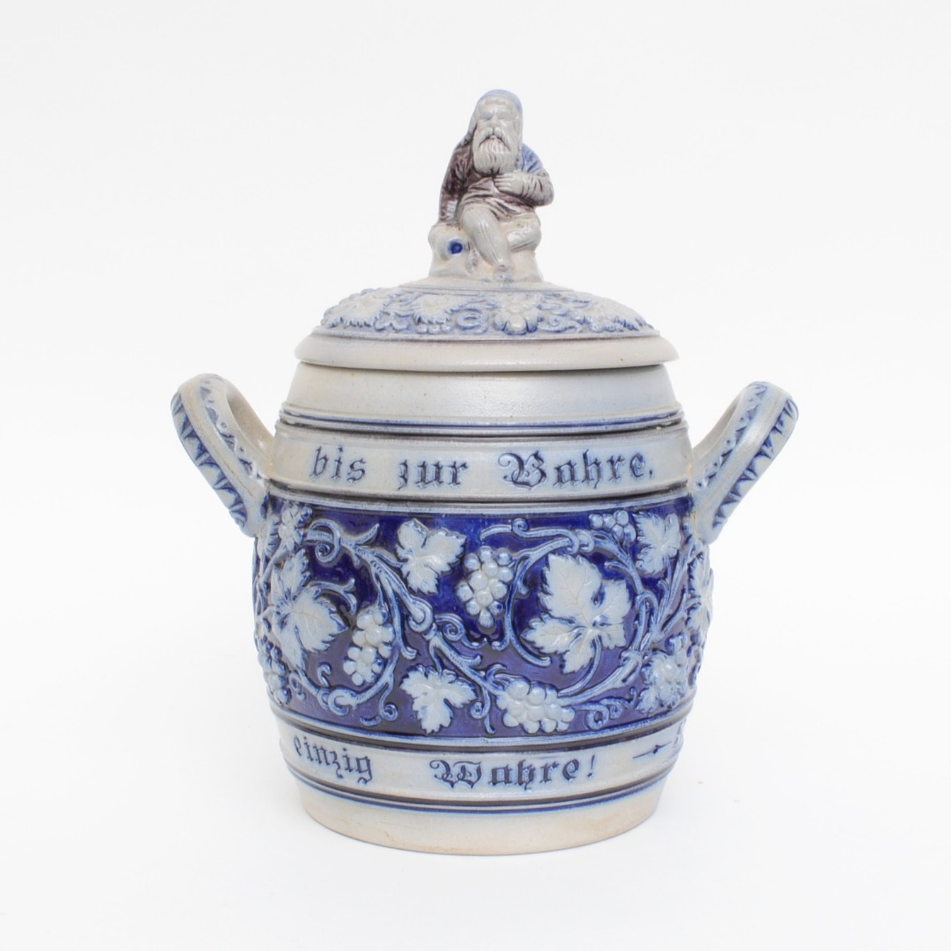 German Merkelbach & Wick Stoneware Soup Tureen, 1879-1921