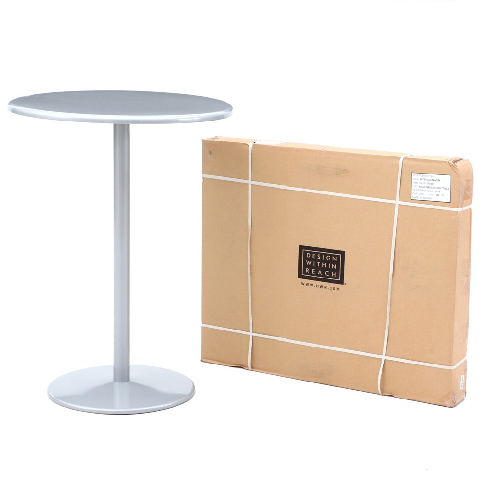 "Design within Reach ""Boulevard"" Patio Bistro Tables, Contemporary"