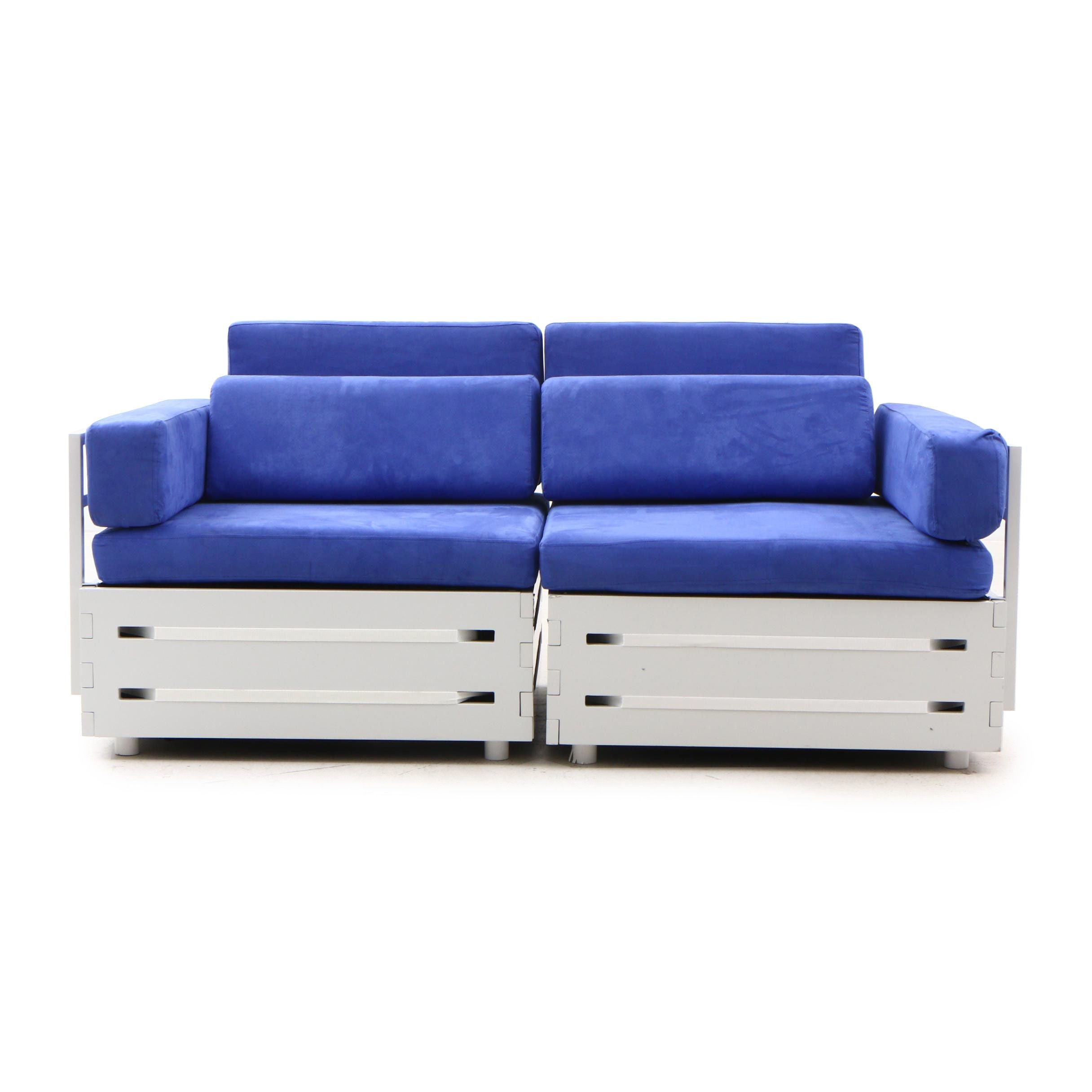 Contemporary Patio Storage Loveseat