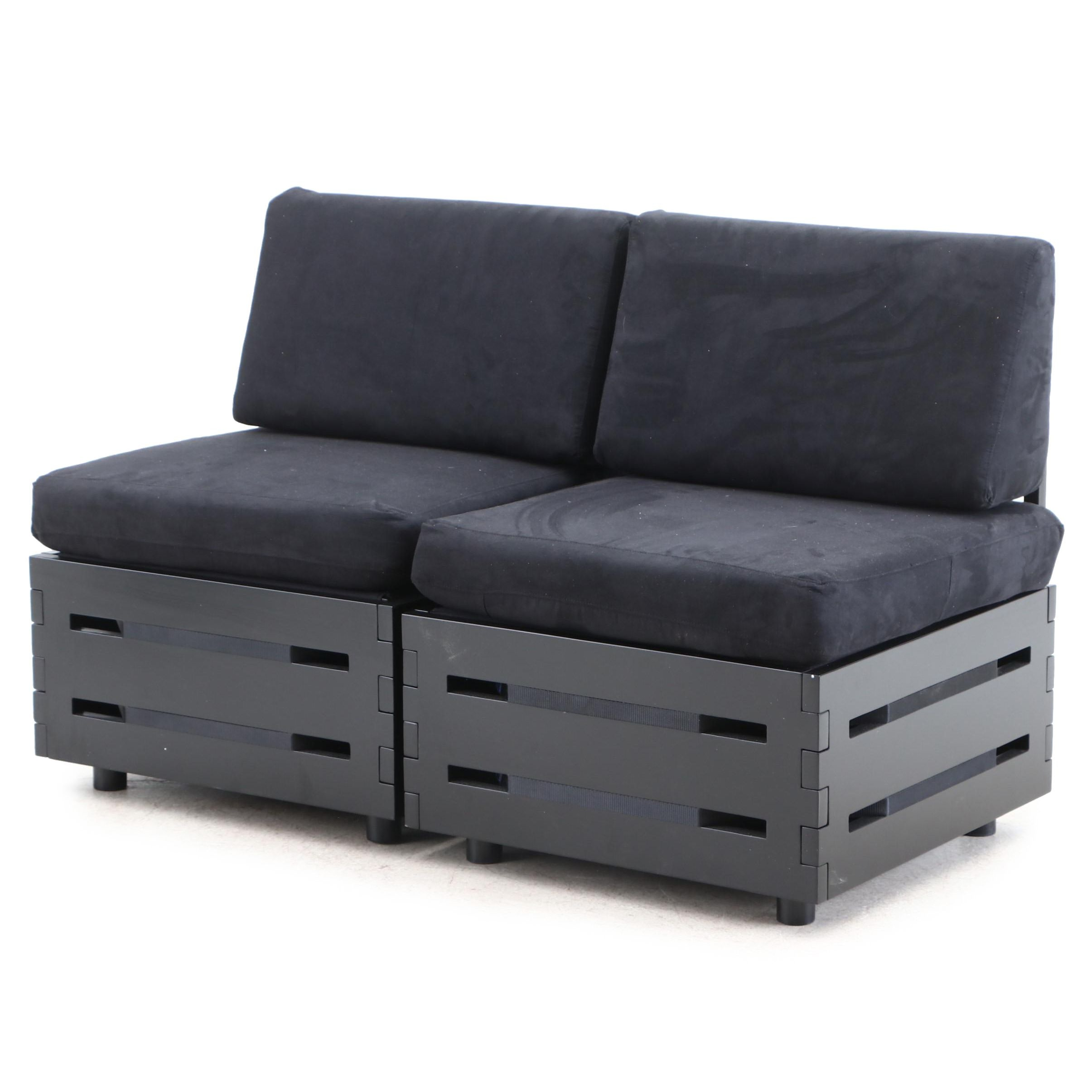 Contemporary Storage Patio Chairs
