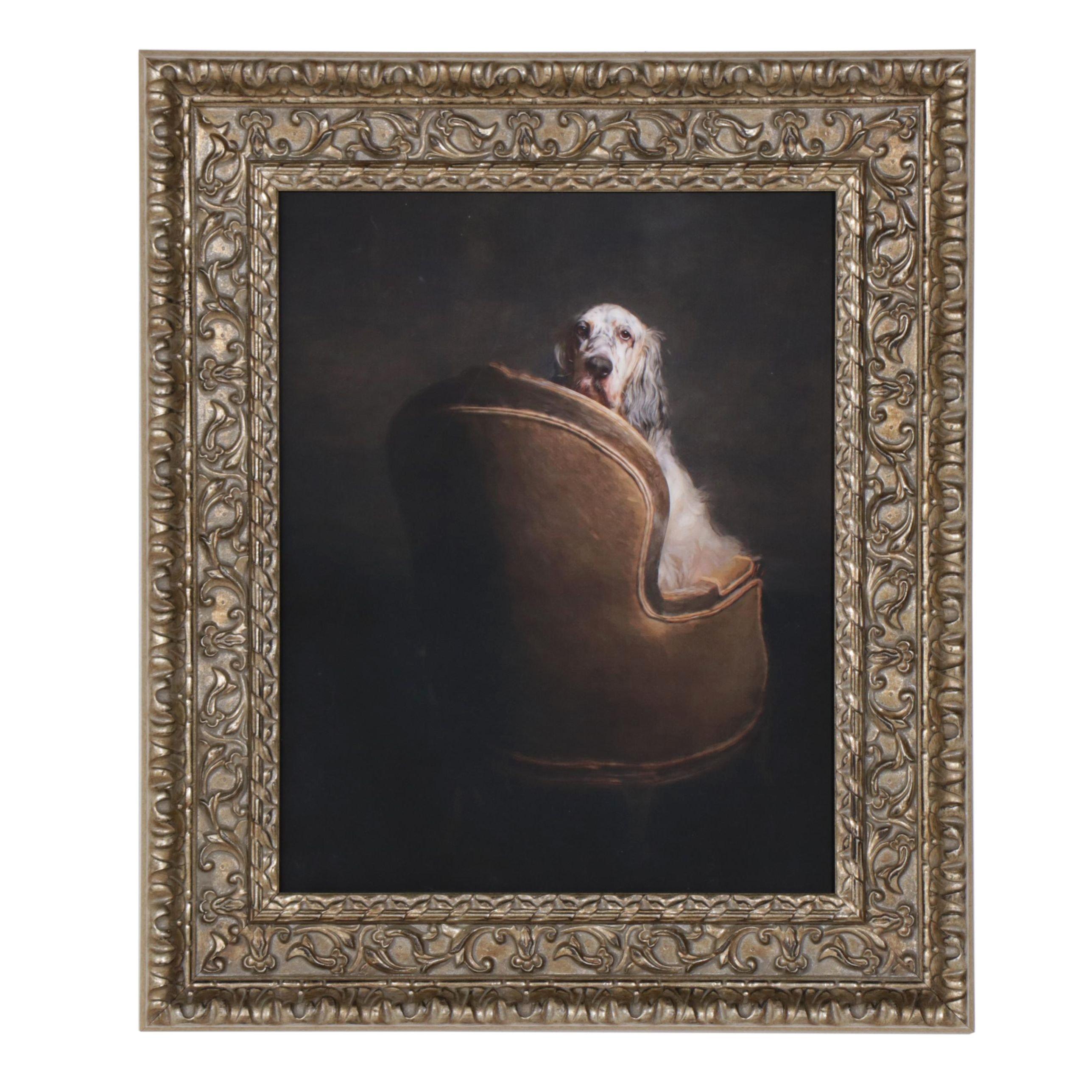 "Pouka Art & Photography Lithograph ""Peekaboo"""