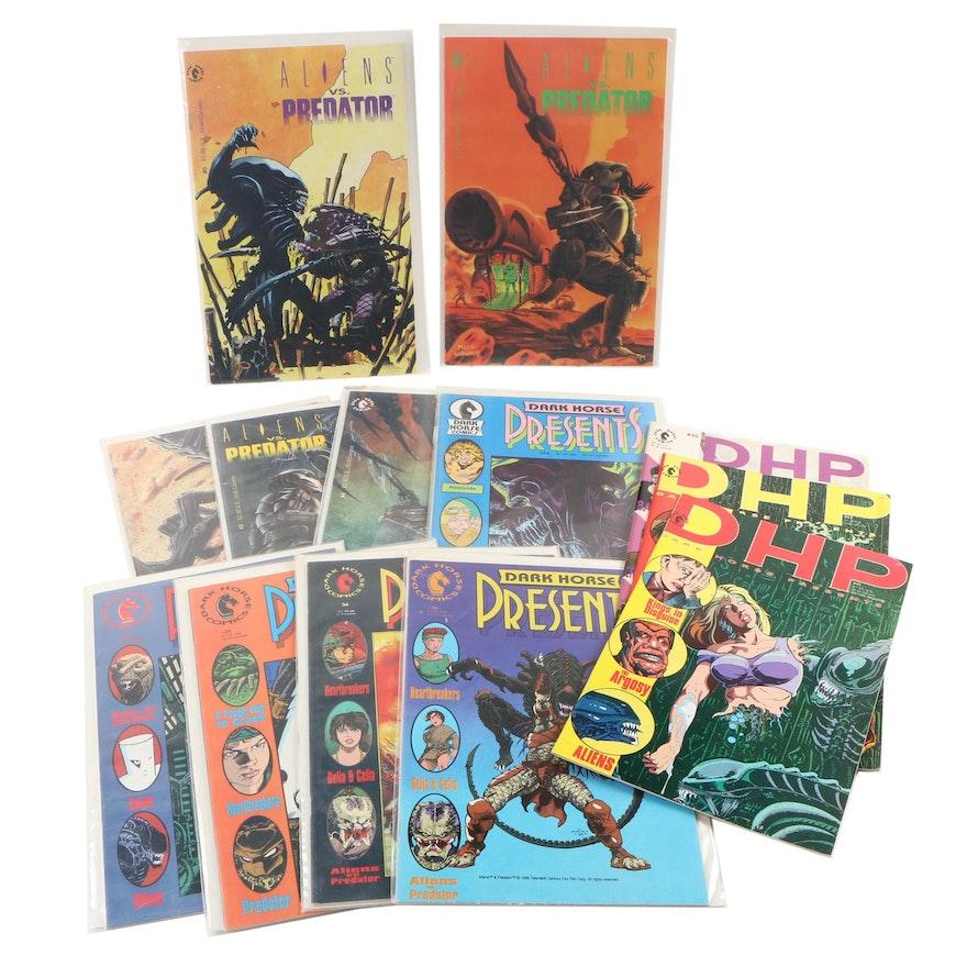 """Aliens Vs. Predator"" and ""Dark Horse Presents"" Comics, Modern Age"