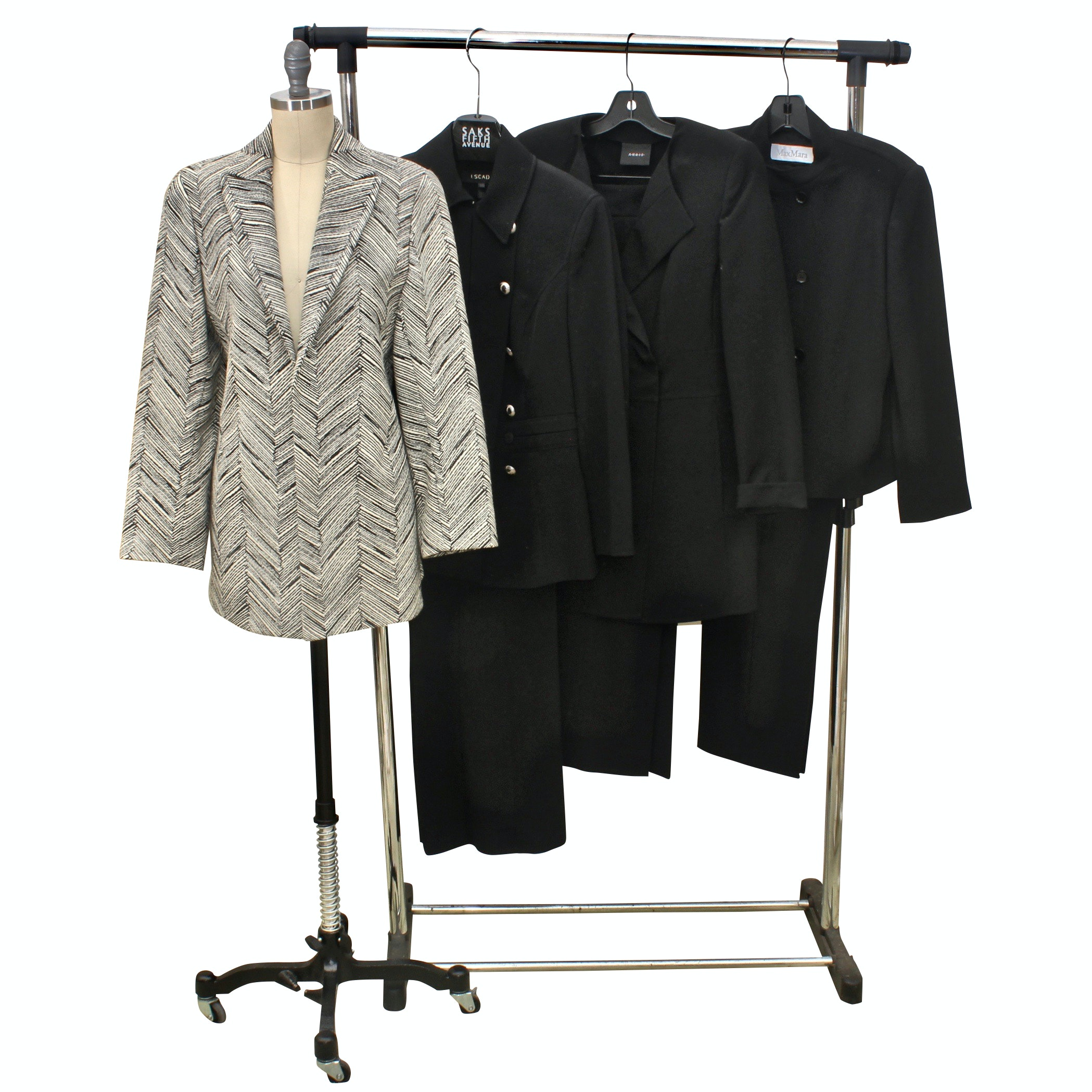 Women's Suit Jackets Including Valentino, Max Mara and Akris