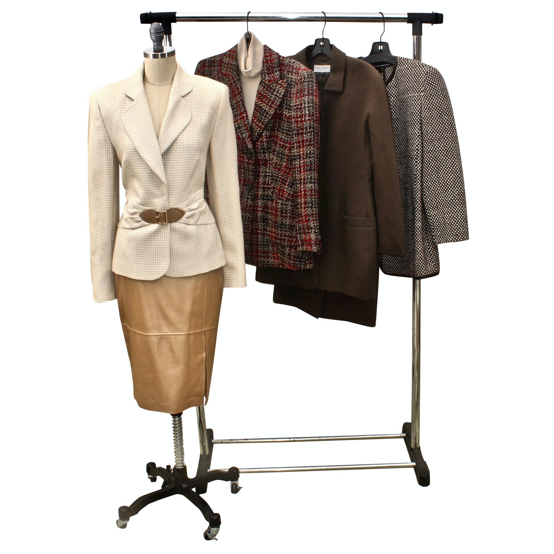 Women's Jackets and Separates Including Giorgio Armani, Escada and More