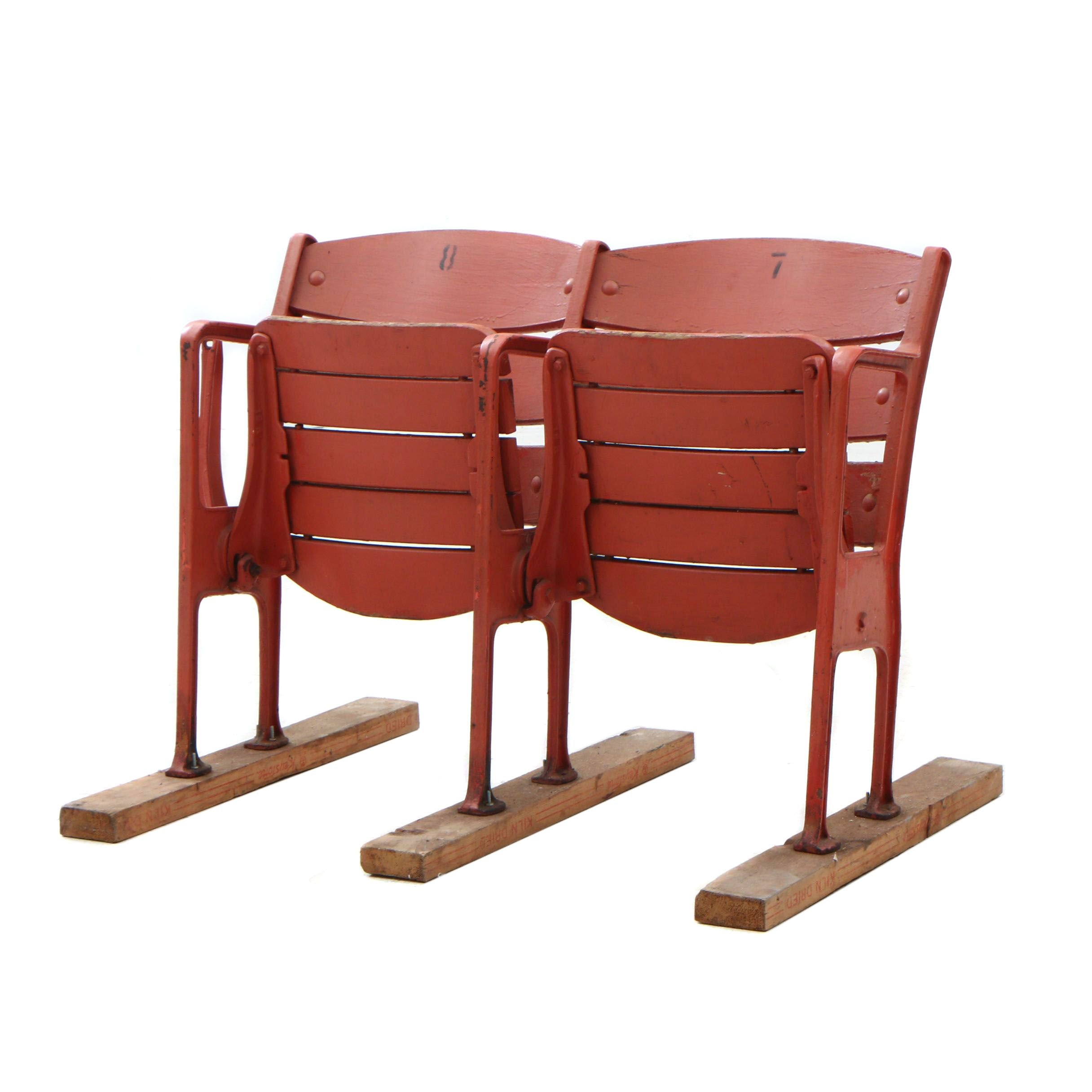 Cincinnati Crosley Field Stadium Self-Standing Seats