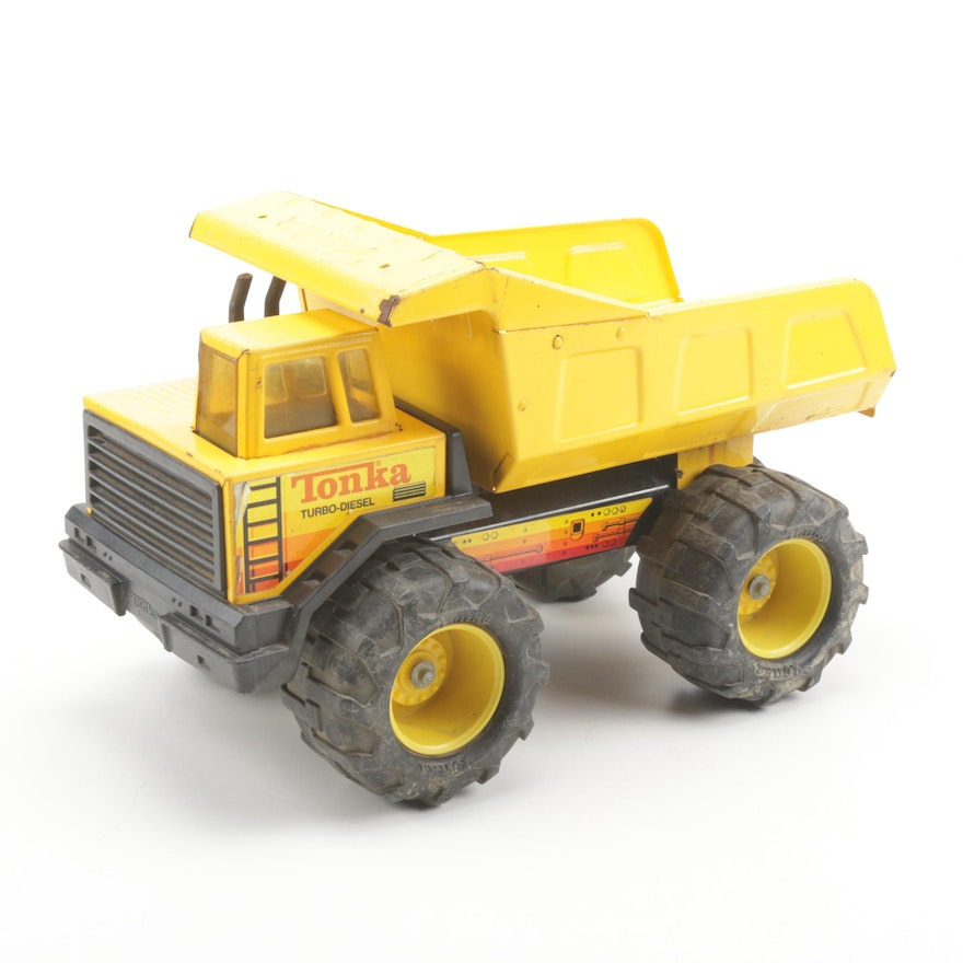 Vintage Tonka Turbo-Diesel Metal Vehicle
