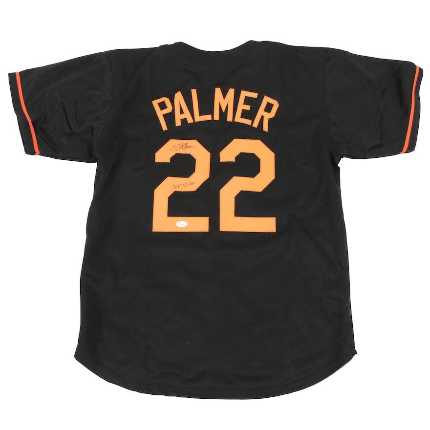 watch bbcb8 dd5dc Jim Palmer Signed Baltimore Orioles Replica Jersey COA ...