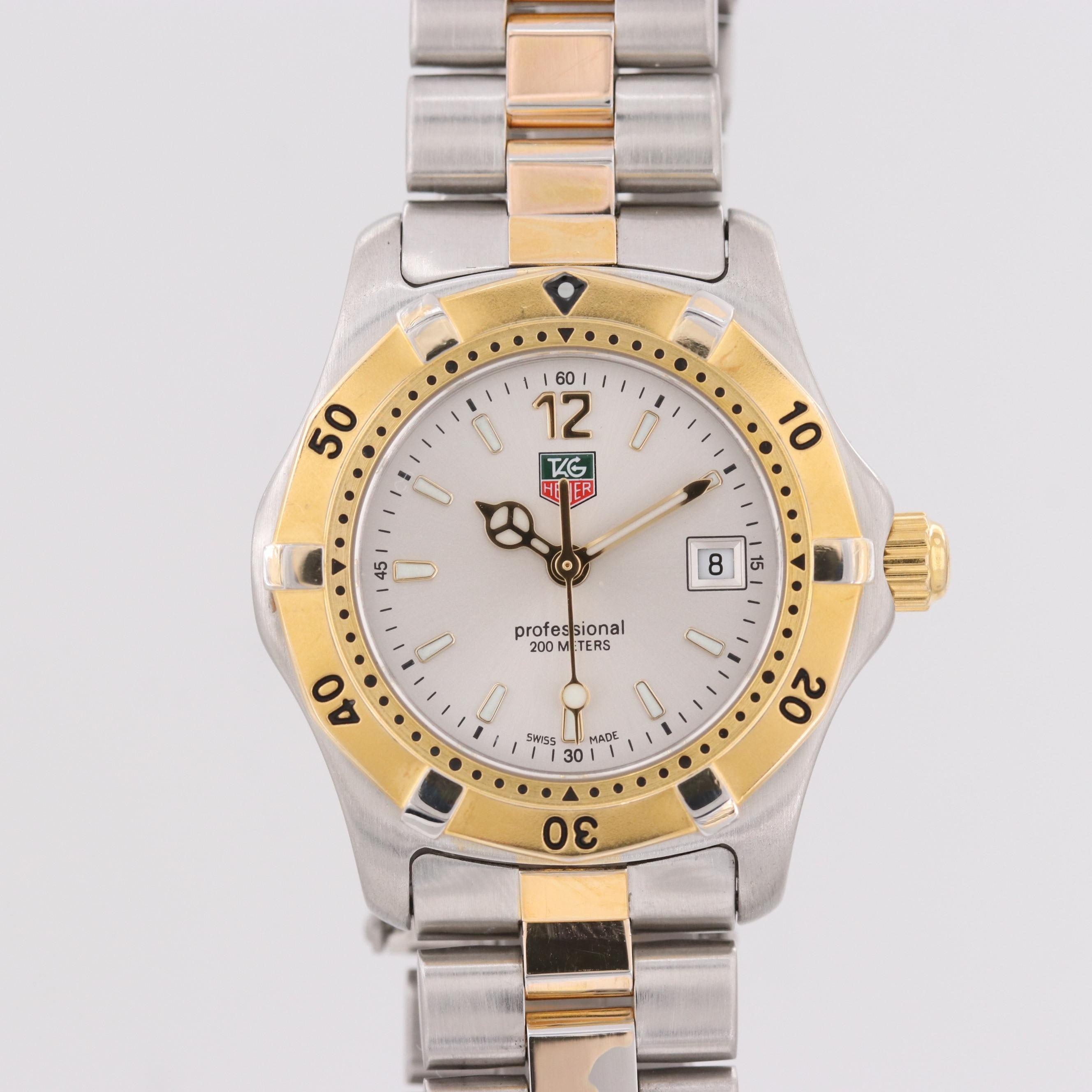 TAG Heuer 2000 Two Tone Quartz Wristwatch