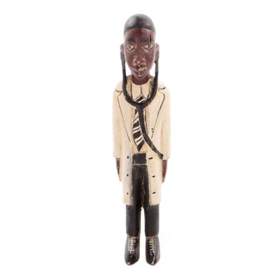 West African Colonial Figure of a Doctor