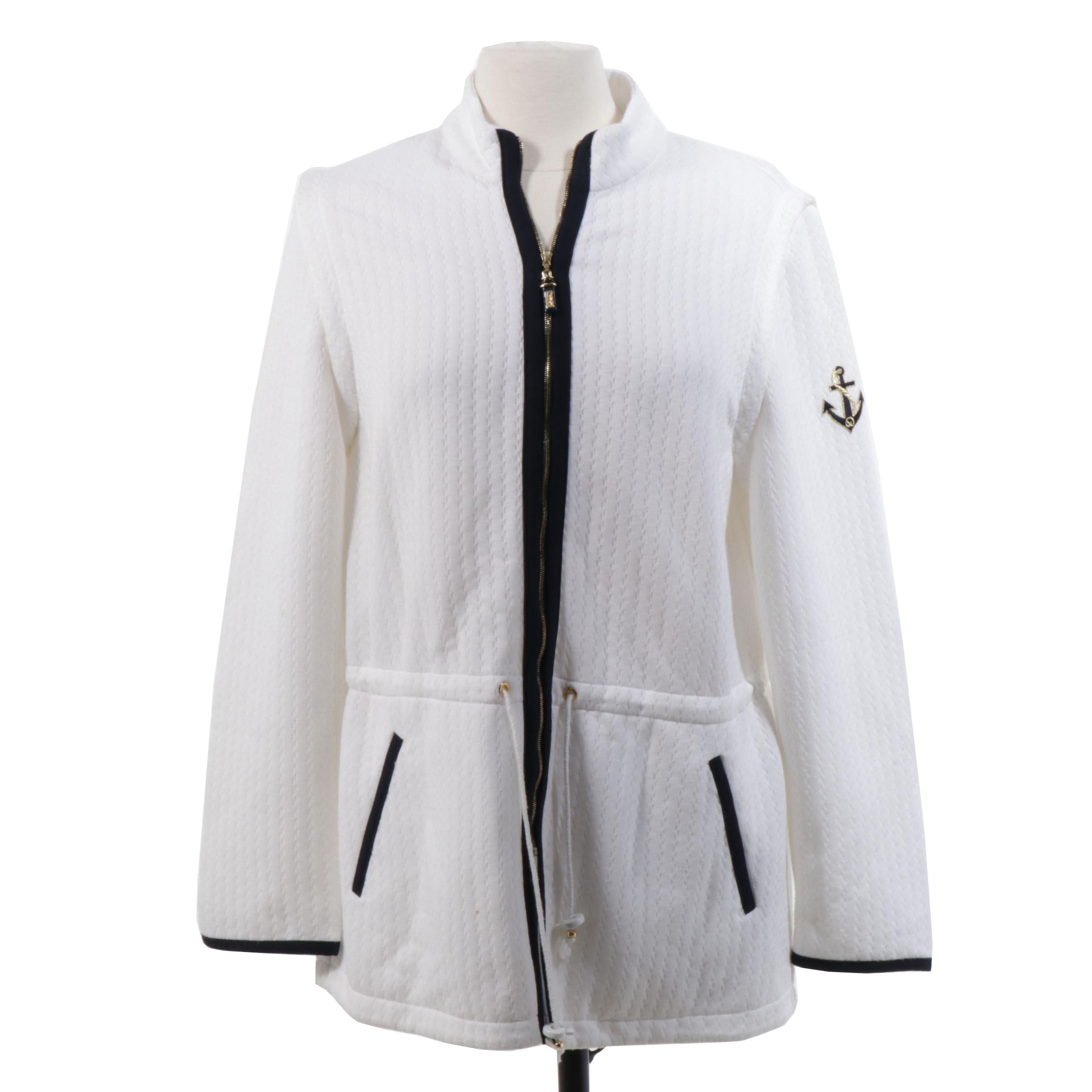 St. John Sport Convertible Jacket