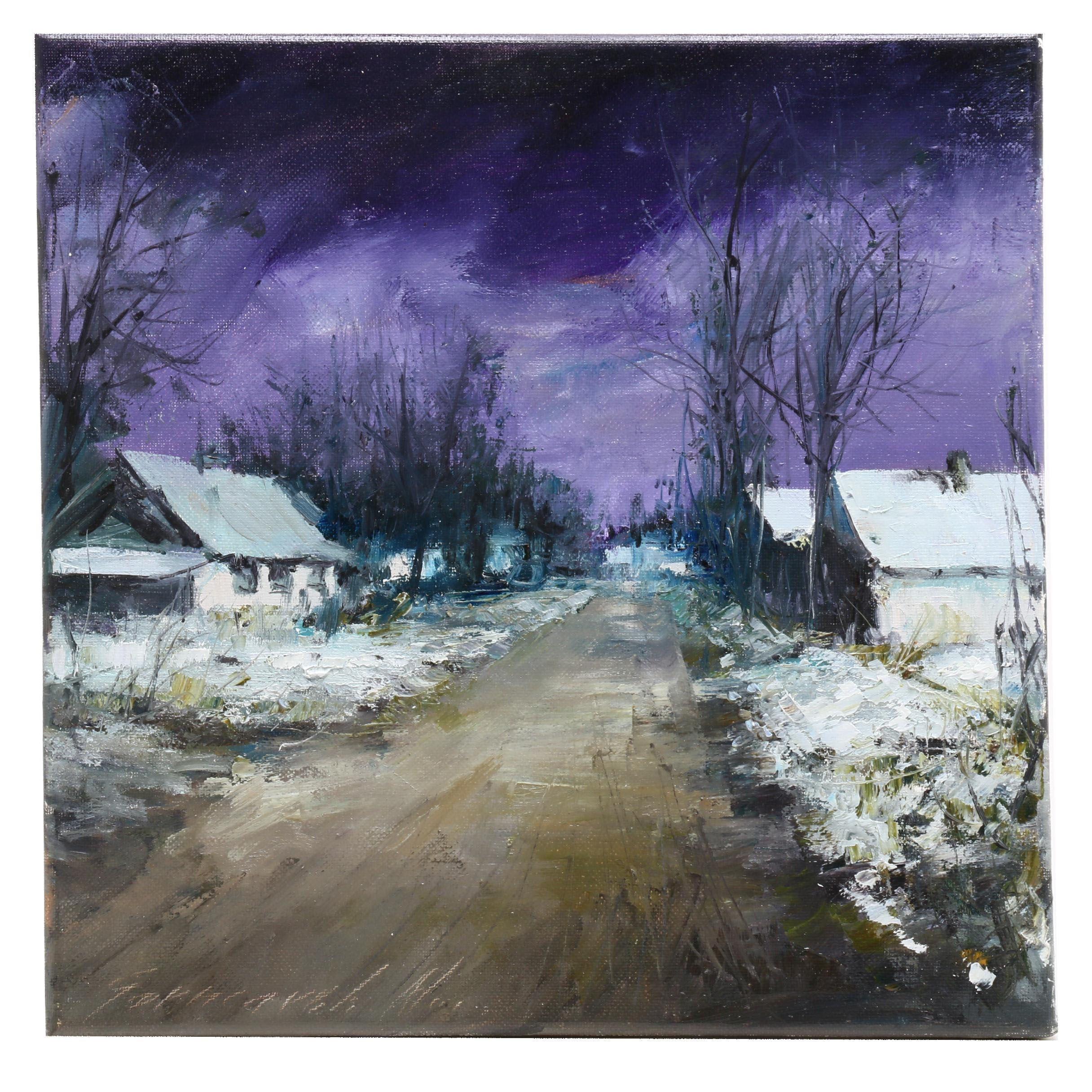 Garncarek Aleksander Oil Landscape Painting