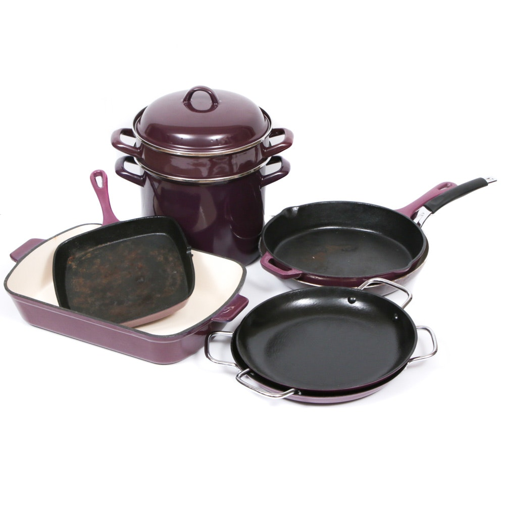 Enameled Cast Iron and Steel Cookware, Contemporary